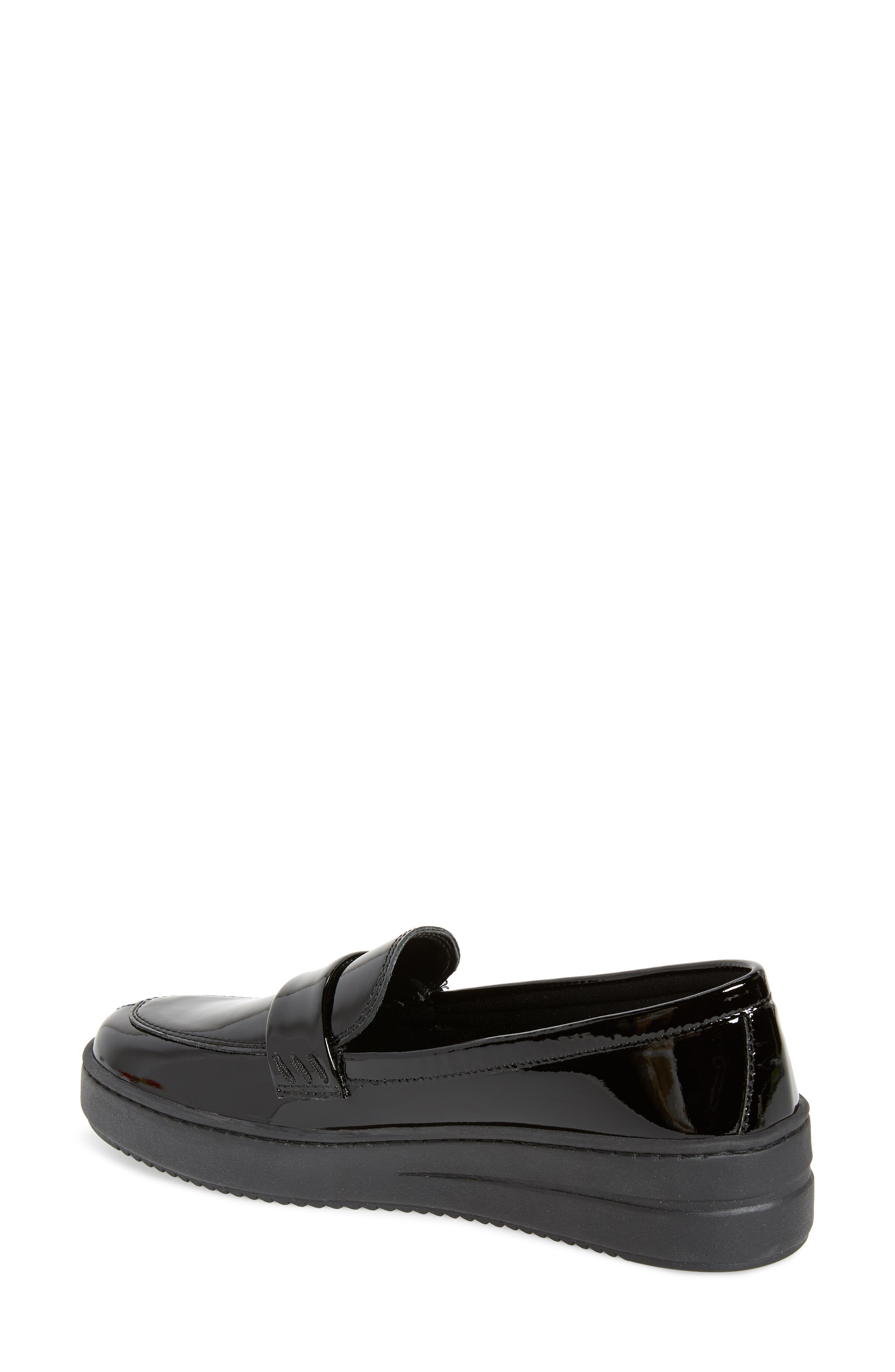THE FLEXX, No Loaf N Loafer, Alternate thumbnail 2, color, BLACK PATENT LEATHER