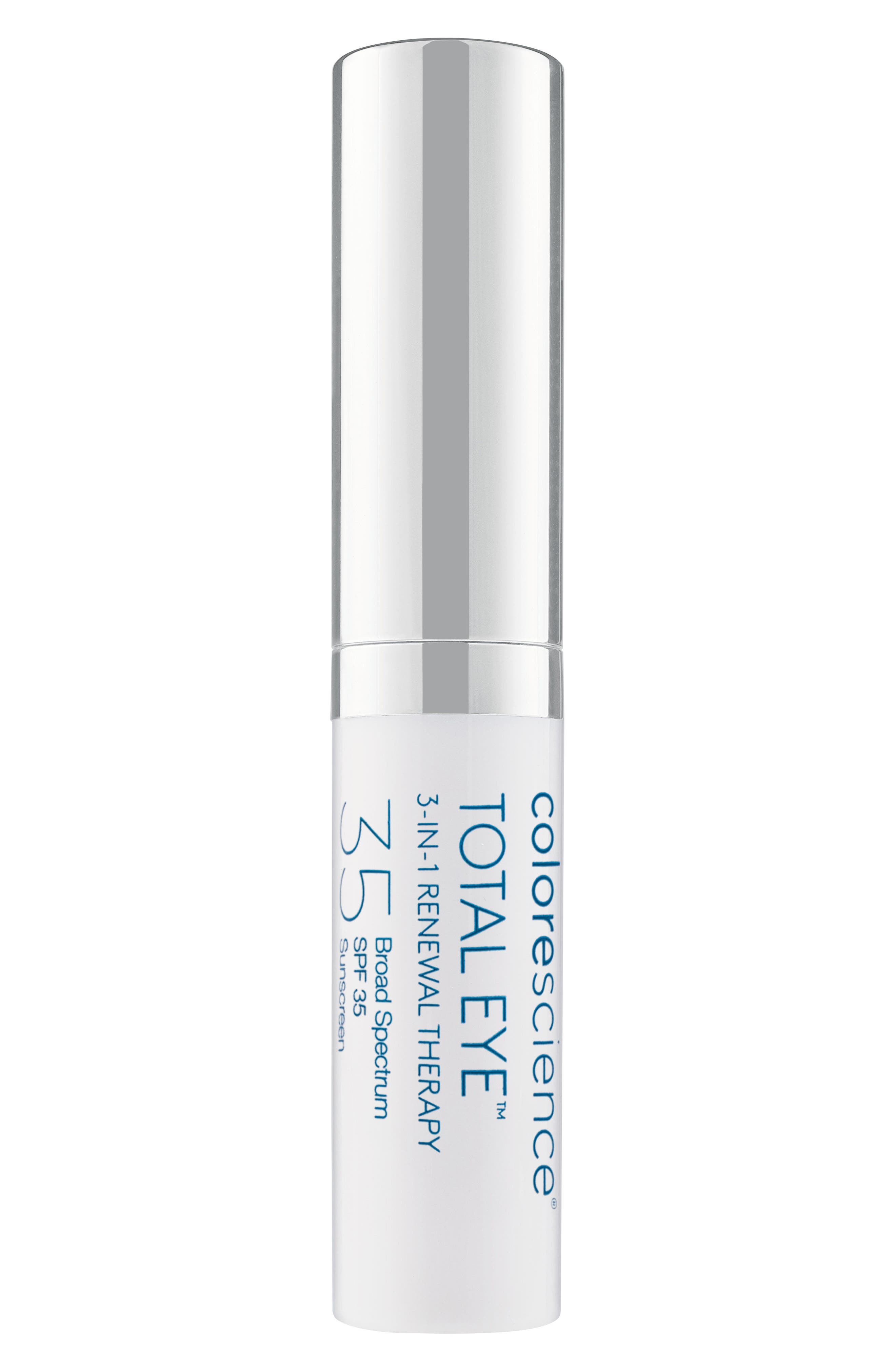 COLORESCIENCE,  Total Eye 3-in-1 Renewal Therapy SPF 35, Alternate thumbnail 2, color, NO COLOR
