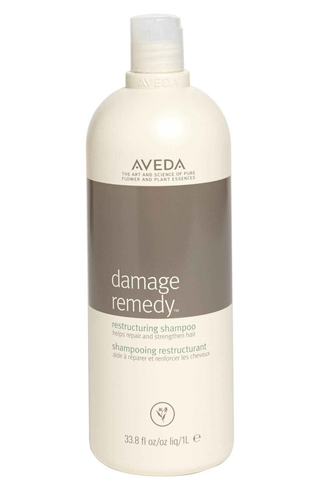 AVEDA, damage remedy<sup>™</sup> Restructuring Shampoo, Alternate thumbnail 3, color, NO COLOR