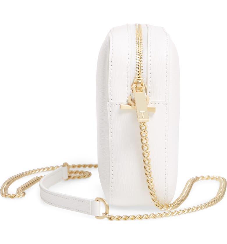 d925b8fa5 Ted Baker Judithh Bow Detail Leather Crossbody Bag - White