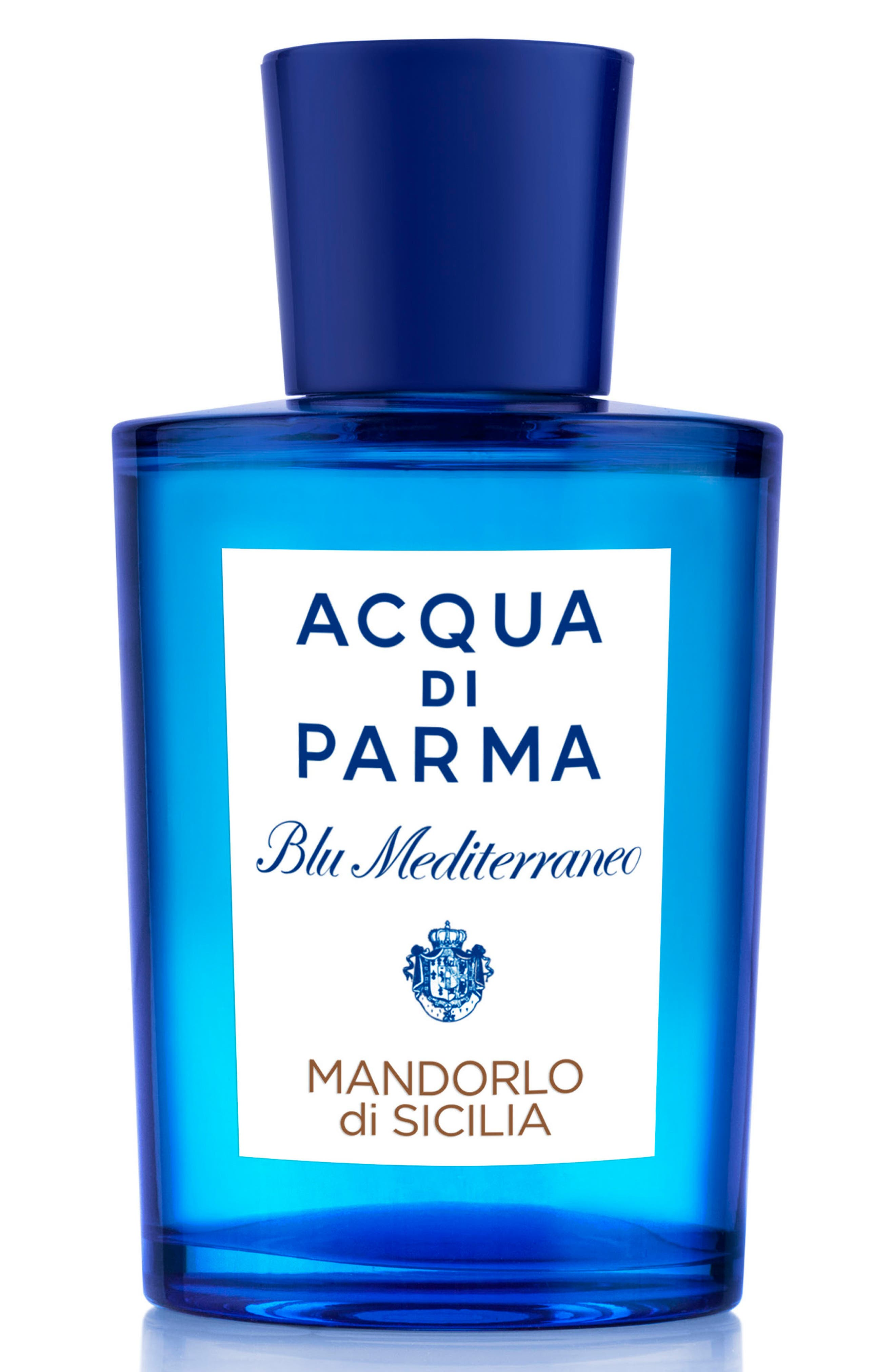 ACQUA DI PARMA, 'Blu Mediterraneo' Mandorlo di Sicilia Eau de Toilette Spray, Main thumbnail 1, color, NO COLOR
