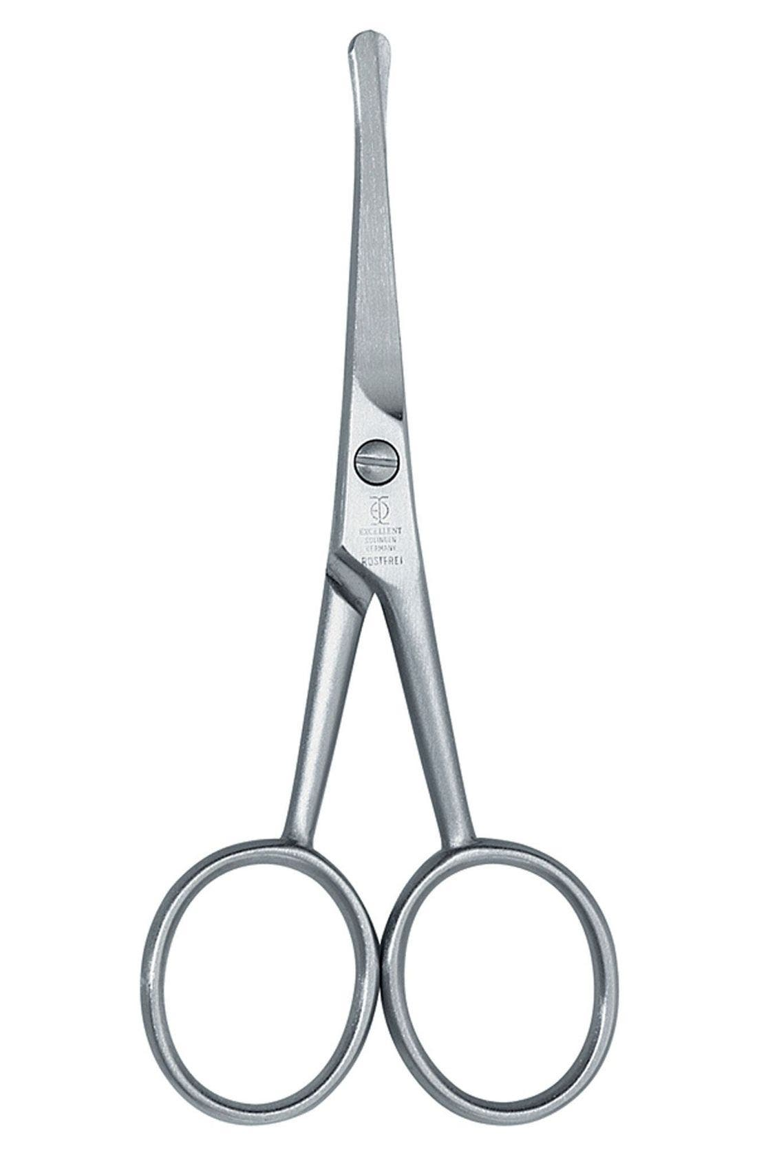 ZWILLING POUR HOMME, Nose & Ear Hair Scissors, Main thumbnail 1, color, NO COLOR