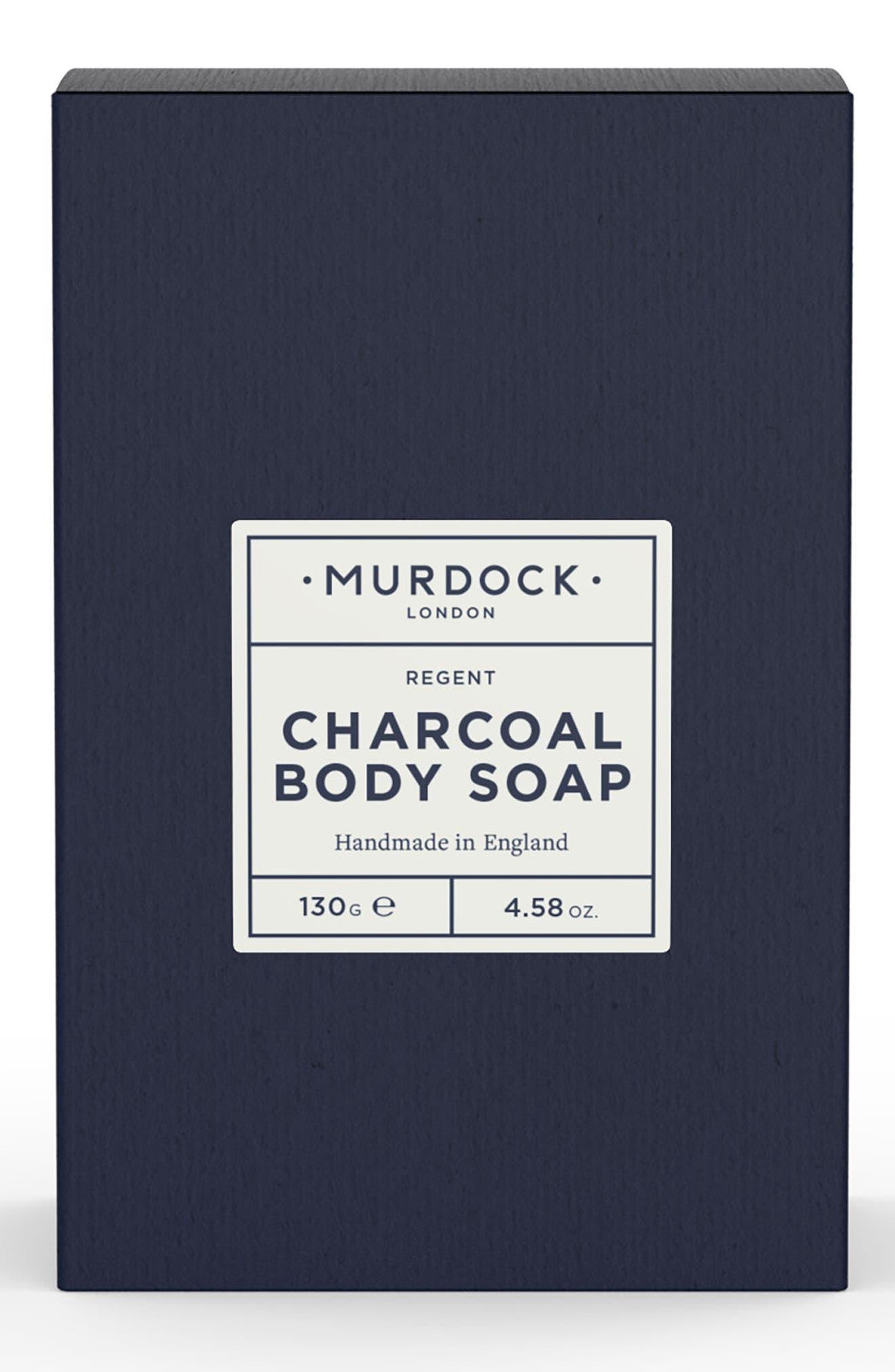 MURDOCK LONDON, Charcoal Body Soap, Main thumbnail 1, color, NO COLOR
