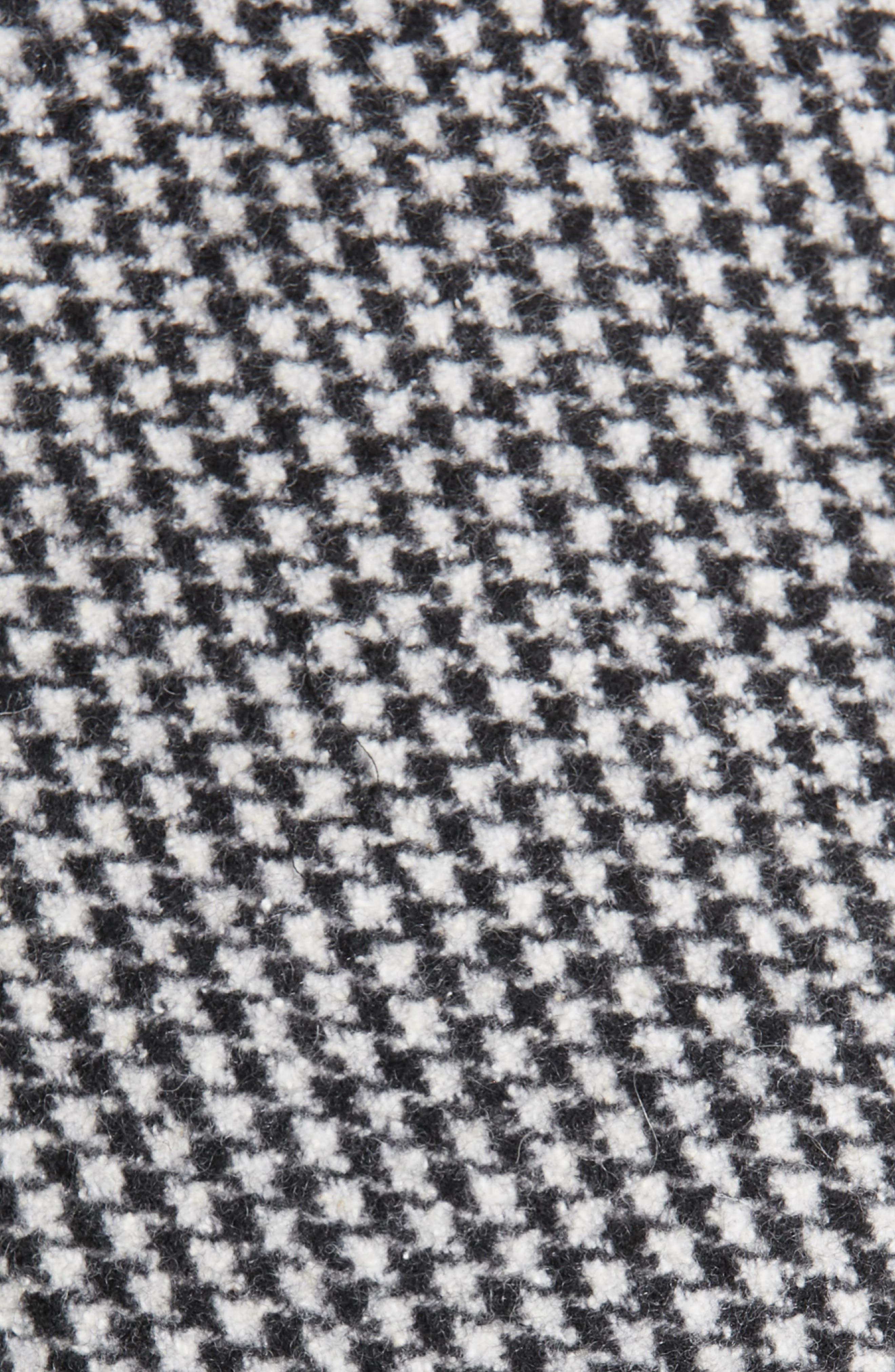 TRICOT COMME DES GARÇONS, Houndstooth Crop Jacket, Alternate thumbnail 6, color, LARGE X SMALL