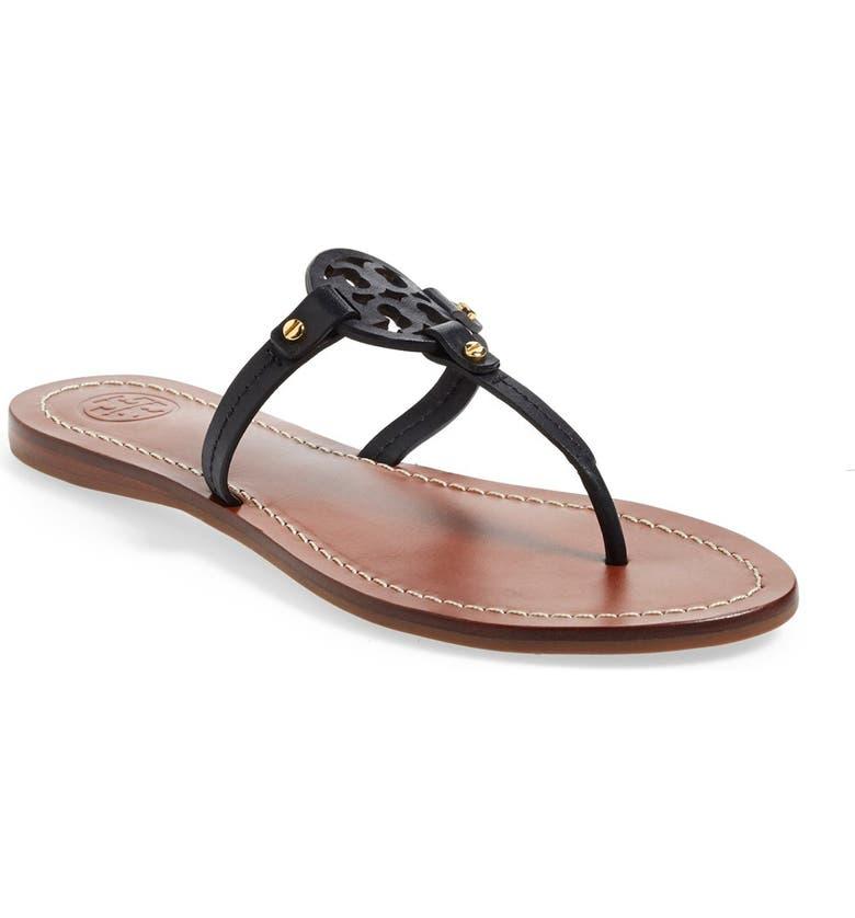c4226b73393 Tory Burch  Mini Miller  Leather Thong Sandal (Women)