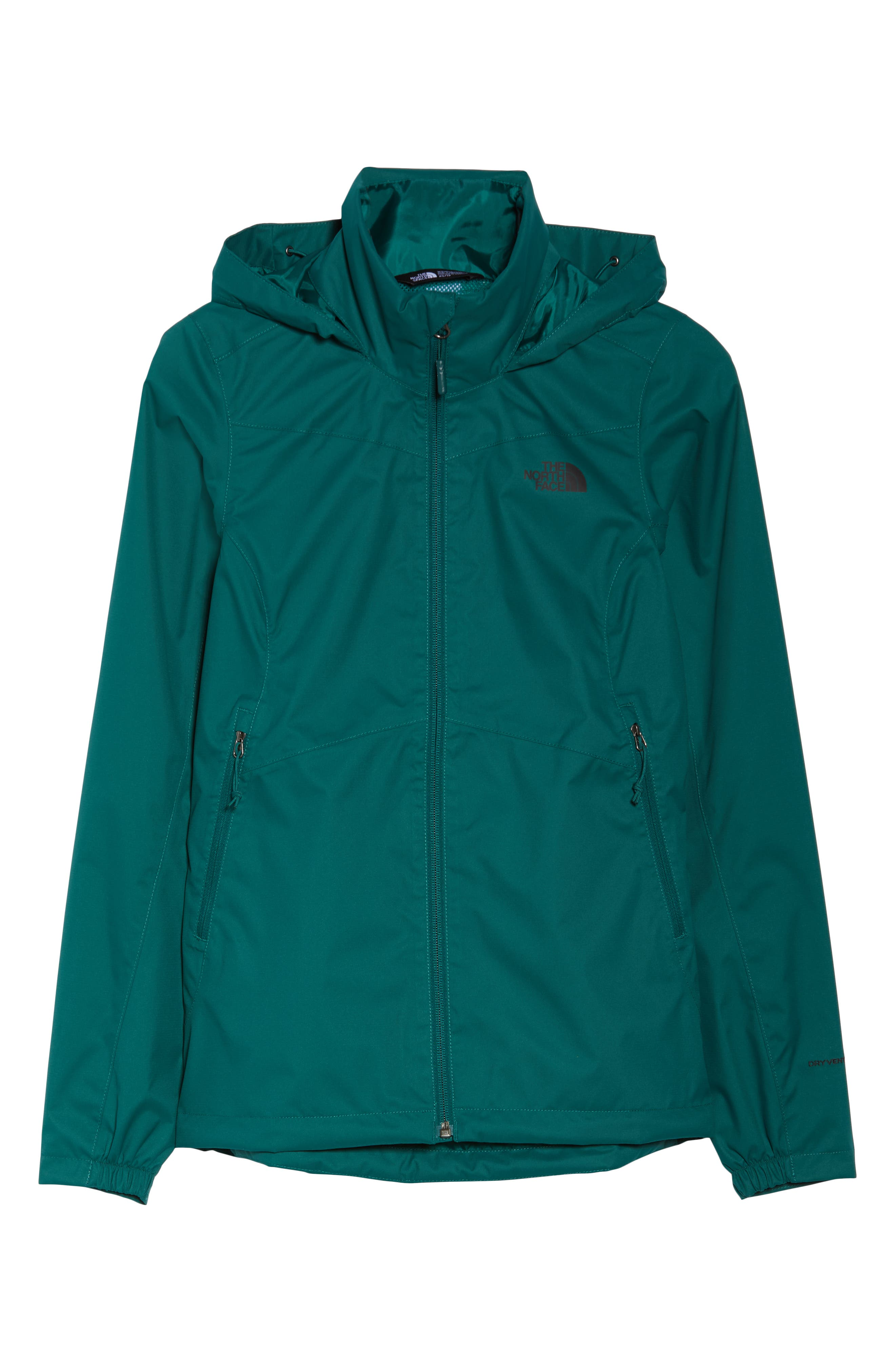 THE NORTH FACE, Resolve Plus Waterproof Jacket, Alternate thumbnail 6, color, 301