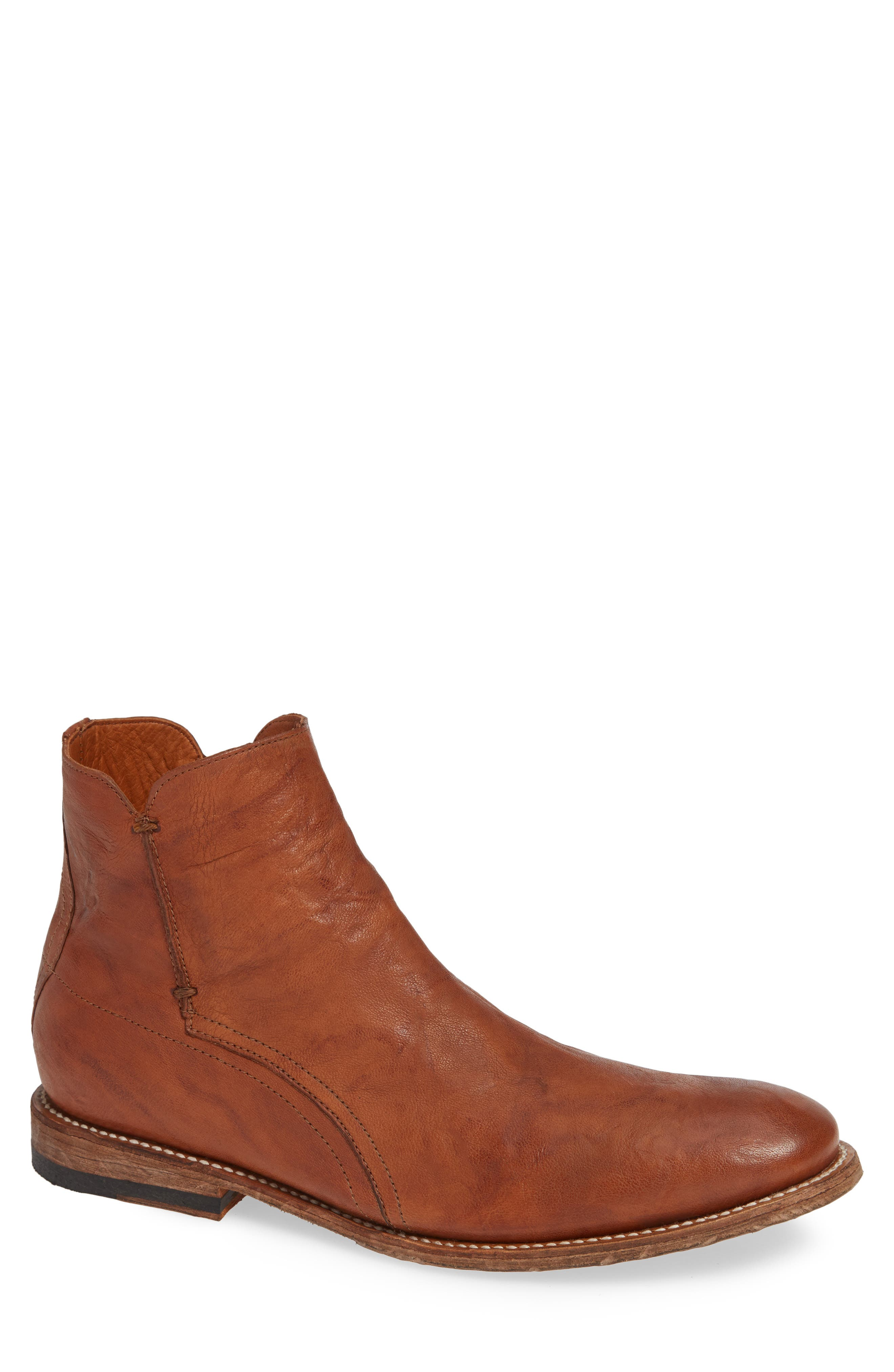 TWO24 by Ariat Lockwood Zip Boot, Main, color, COGNAC LEATHER