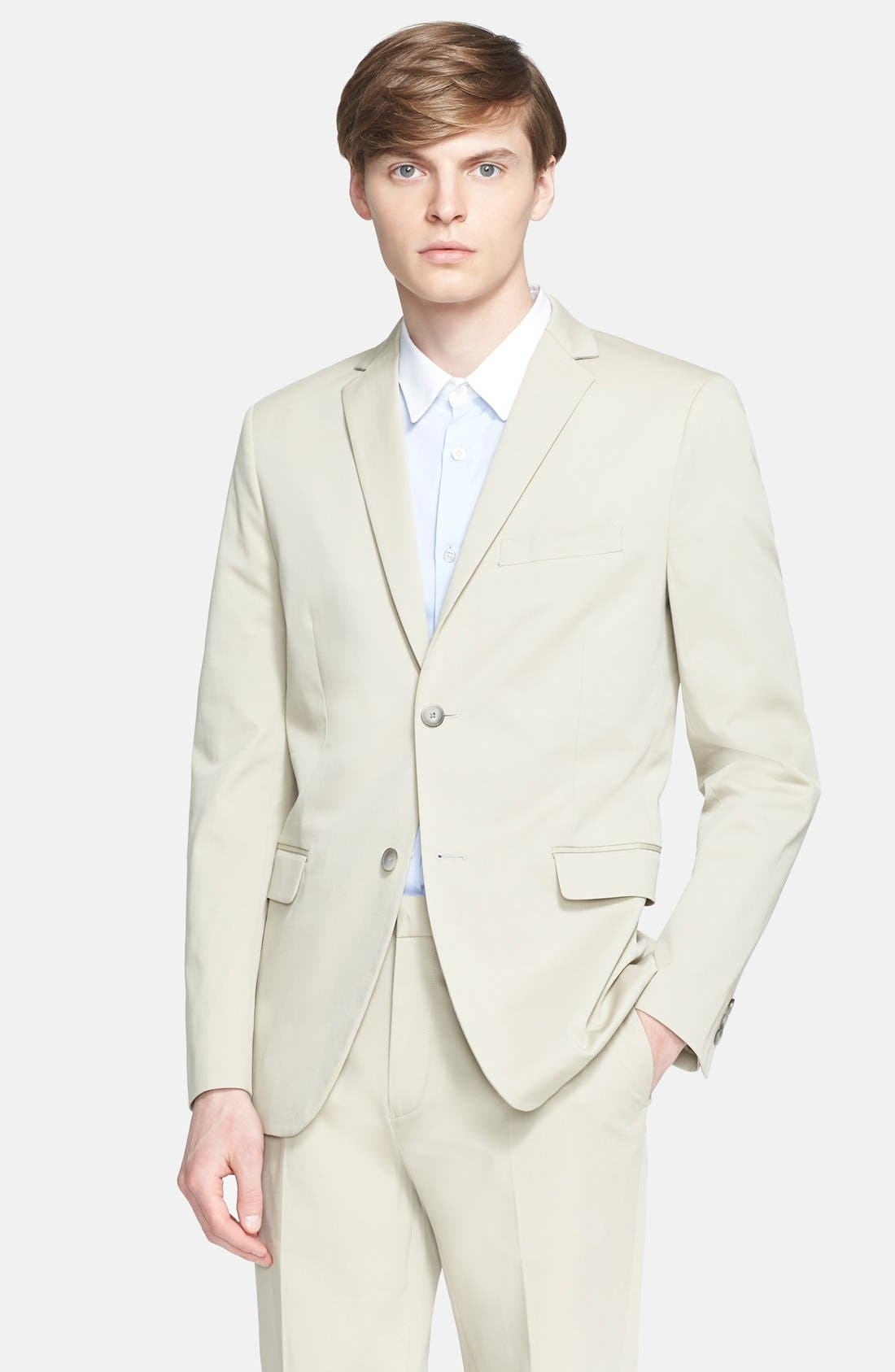 THEORY, 'Straslund' Trim Fit Two-Button Blazer, Main thumbnail 1, color, 261