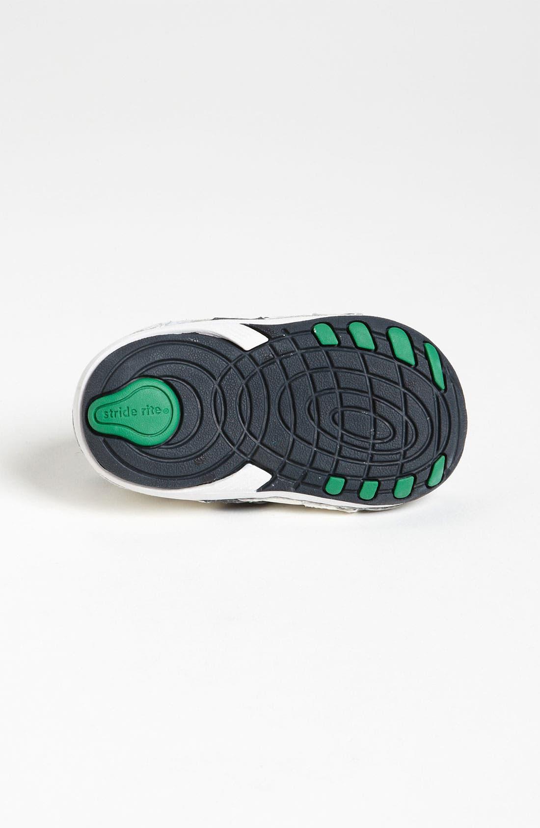 STRIDE RITE, 'Arte' Sneaker, Alternate thumbnail 11, color, WHITE/ NAVY