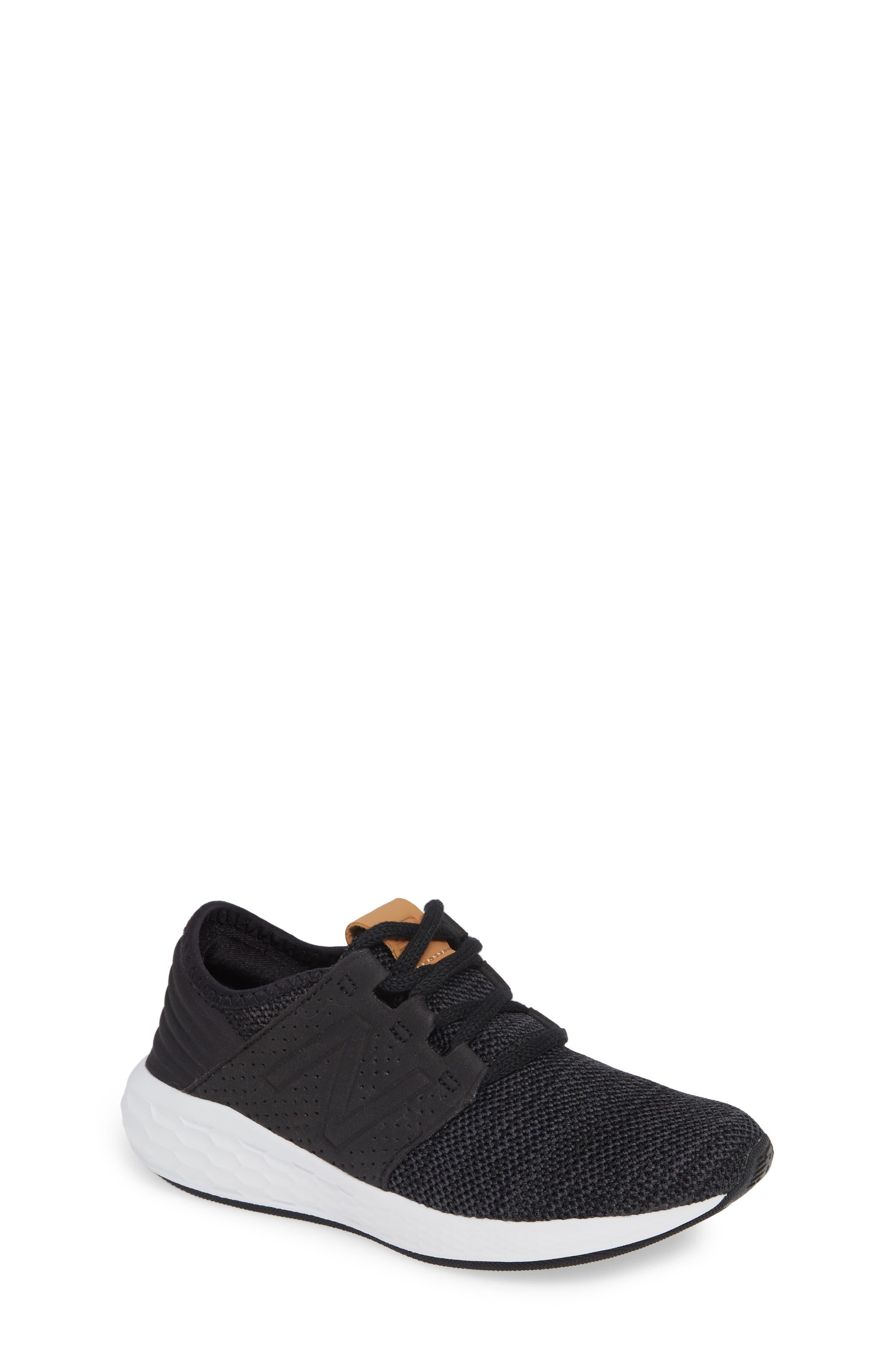 Toddler New Balance Cruz V2 Sport Sneaker Size 15 M  Black