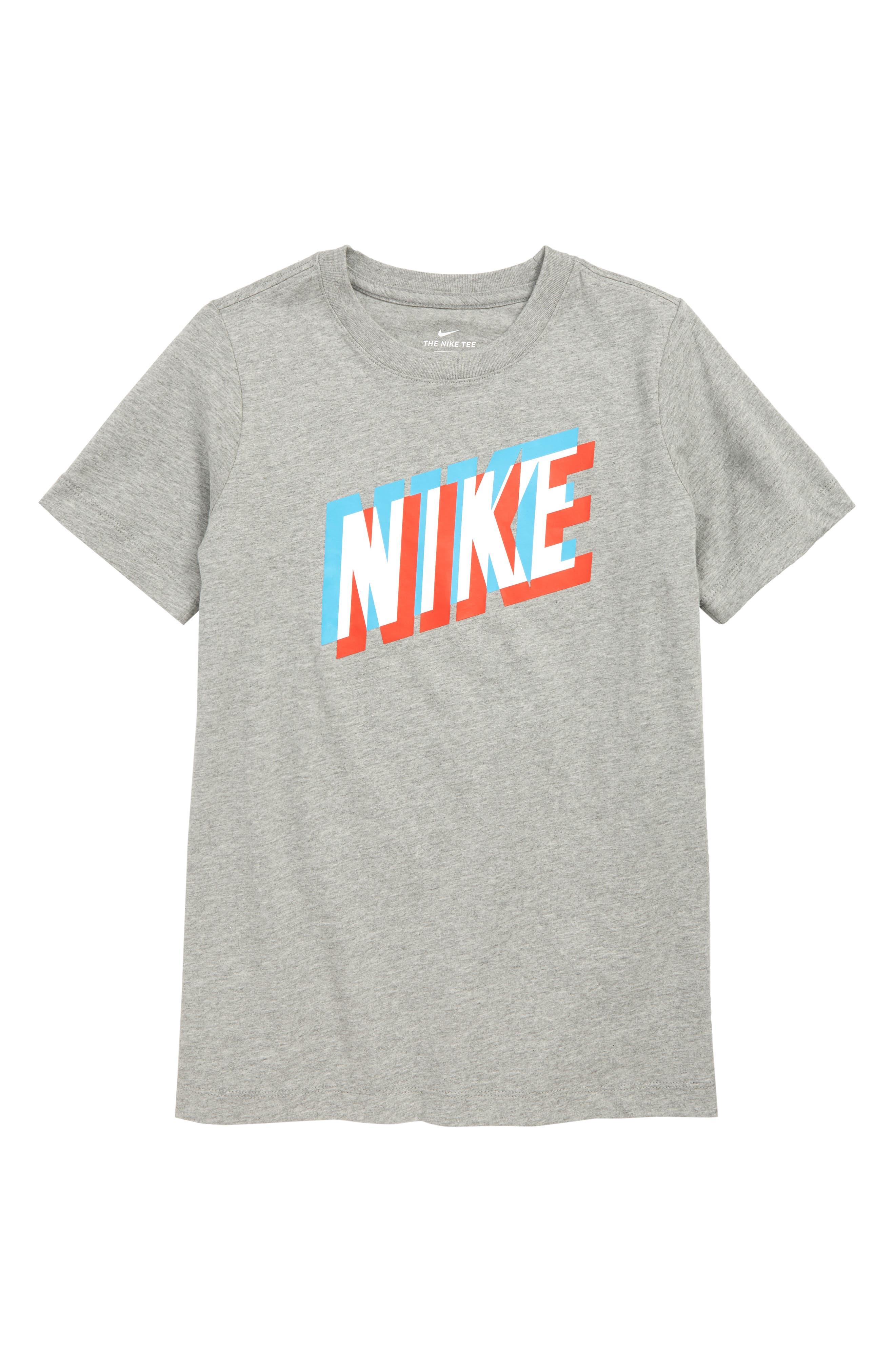 Boys Nike Sportswear 3D Logo TShirt