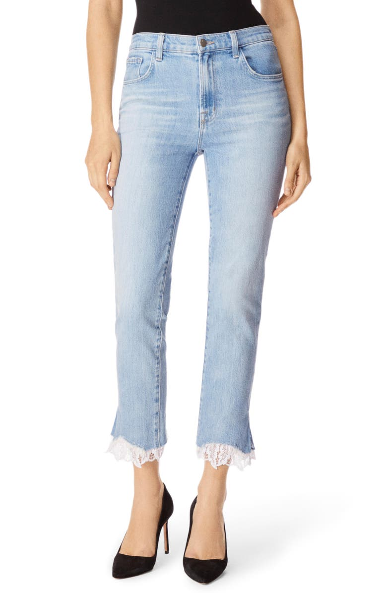 J Brand Jeans RUBY HIGH WAIST CROP CIGARETTE JEANS