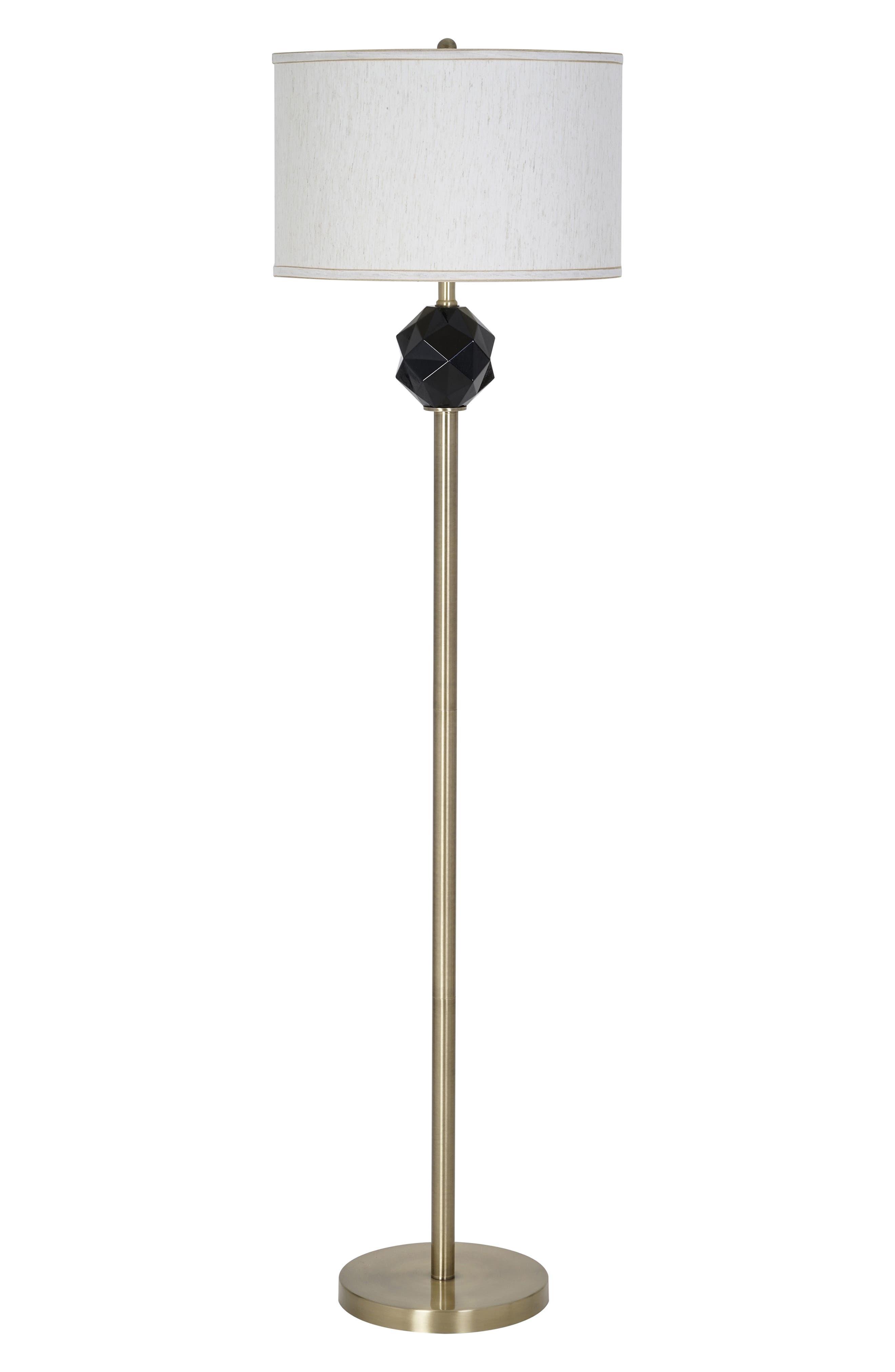 Jalexander Lighting Dash Floor Lamp Size One Size  Black