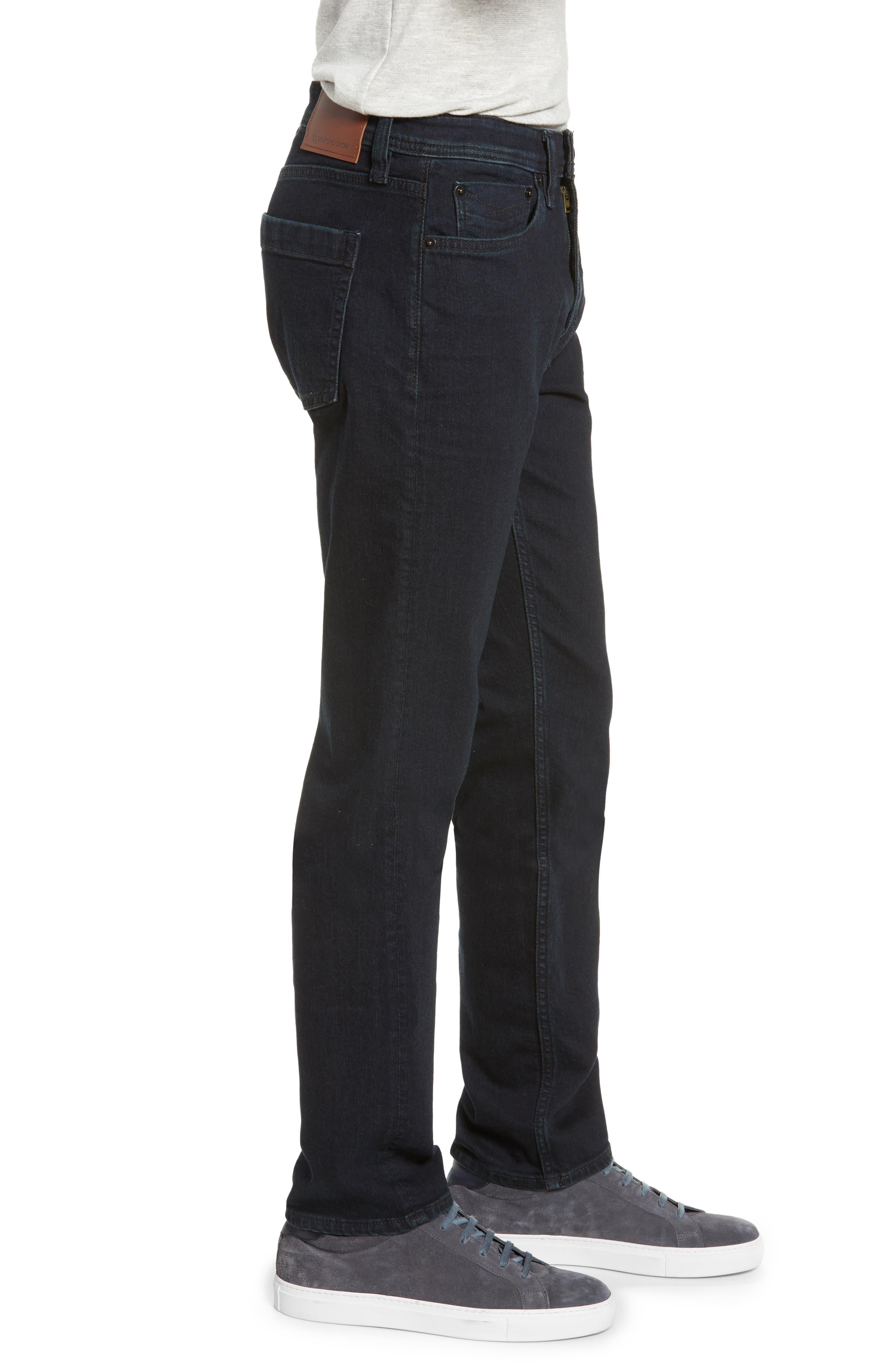 REVTOWN, Sharp Slim Fit Jeans, Alternate thumbnail 4, color, RINSE INDIGO
