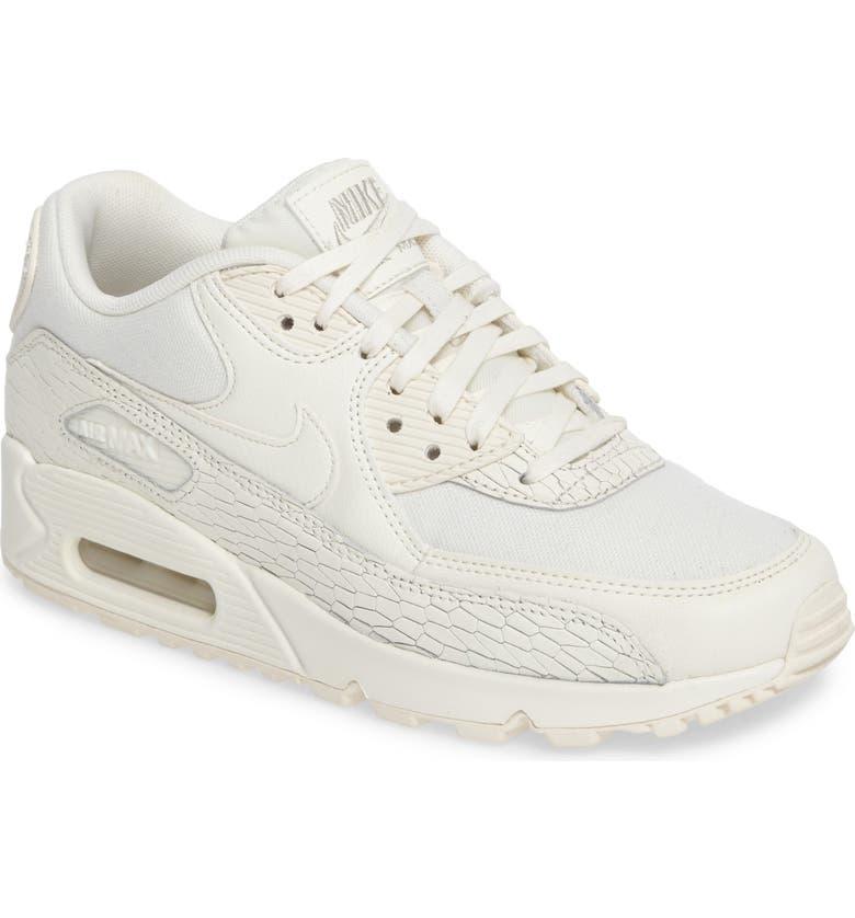 143007b1034 Nike Air Max 90 Premium Leather Sneaker (Women)