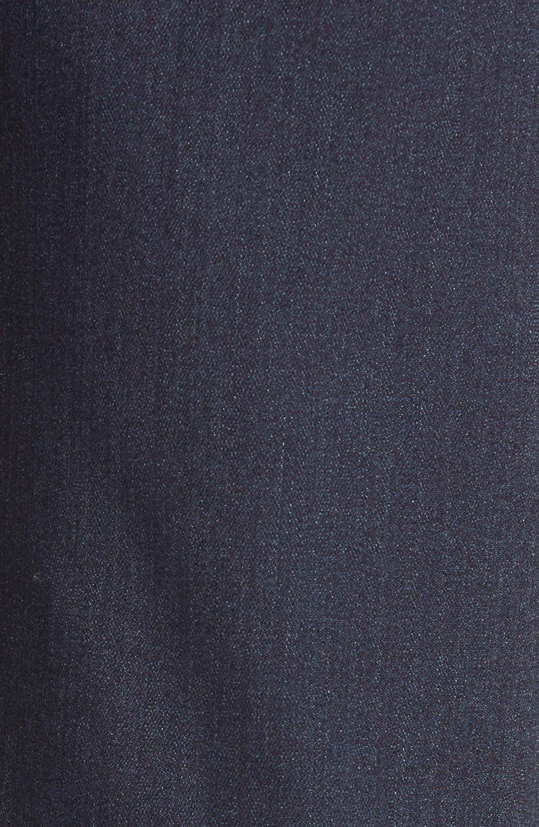 PAIGE, Transcend - Federal Slim Straight Leg Jeans, Alternate thumbnail 4, color, CELLAR/ CELLAR