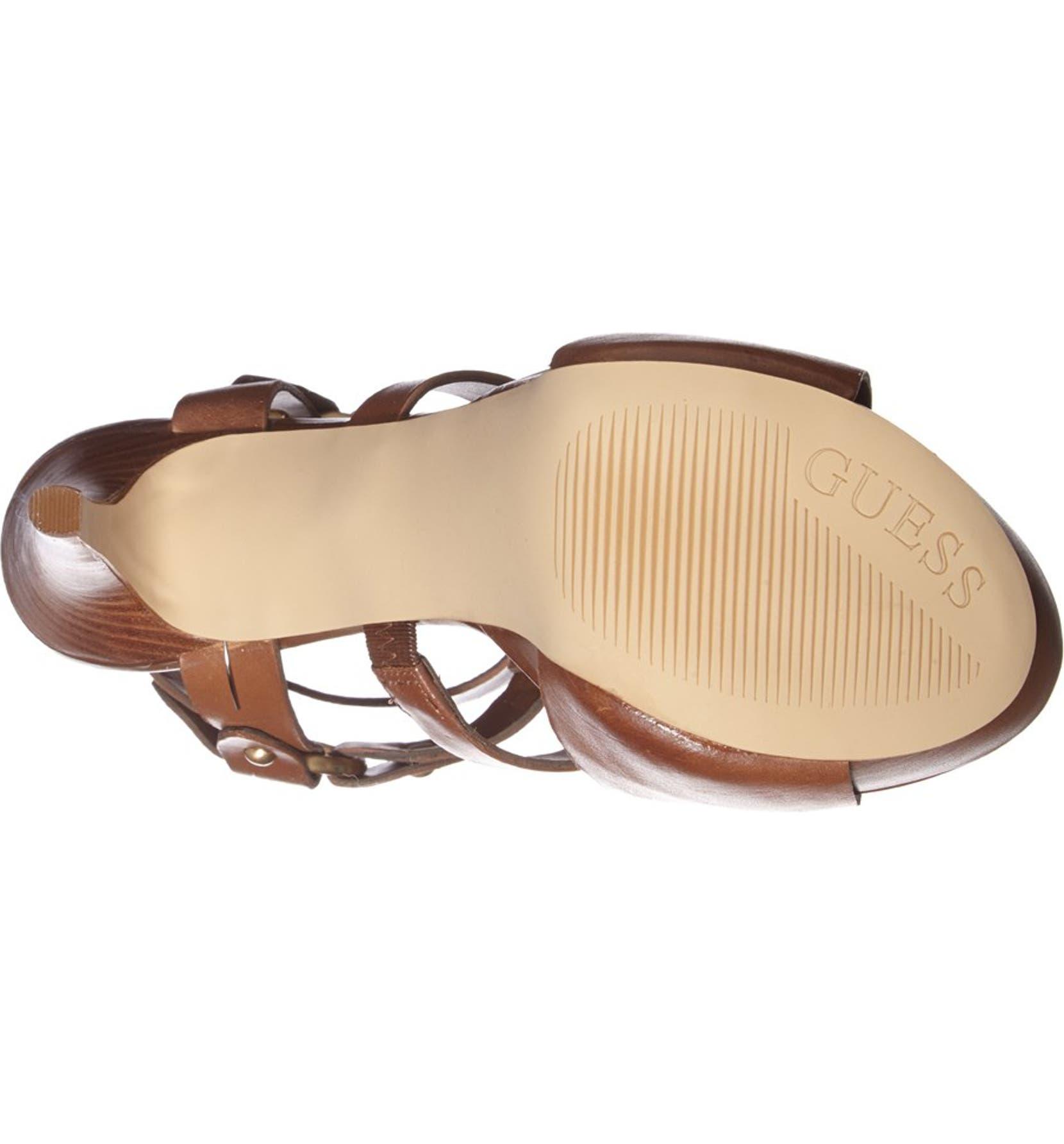 a86ccd0899e GUESS  Normandi  Platform Gladiator Sandal (Women)