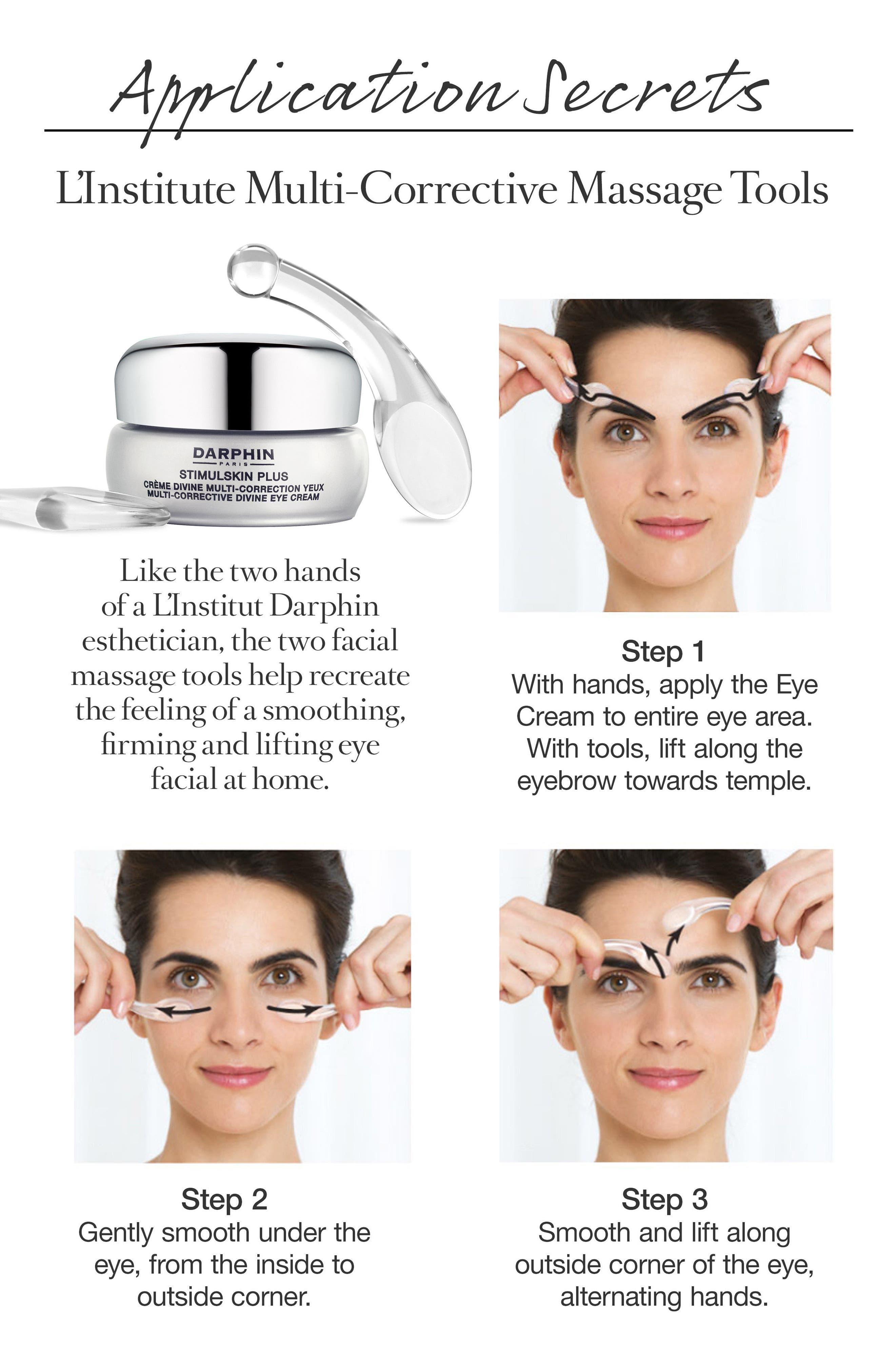 DARPHIN, Stimulskin Plus Multi-Corrective Divine Eye Cream, Alternate thumbnail 4, color, NO COLOR