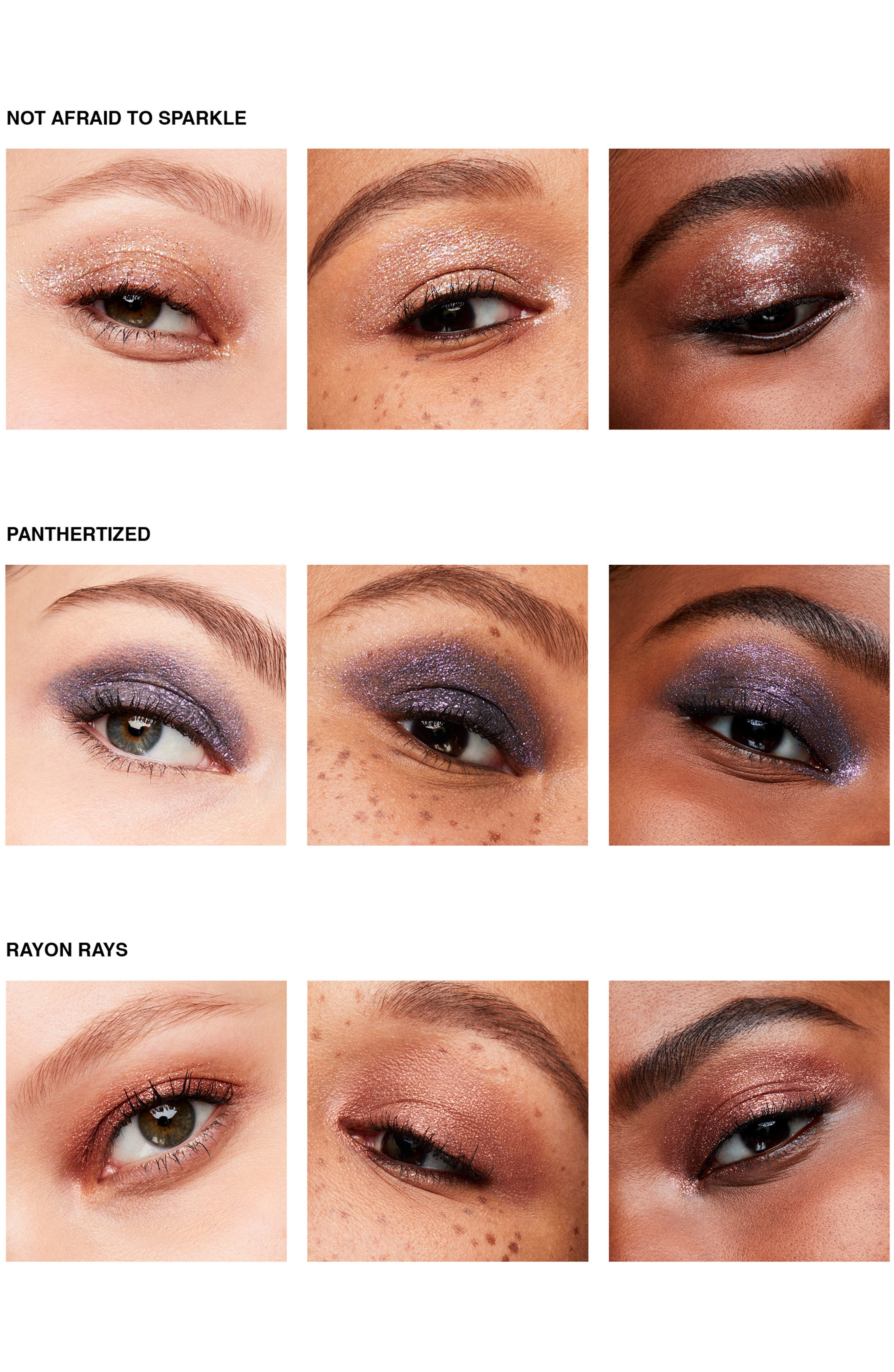 MAC COSMETICS, MAC Dazzleshadow Liquid Eyeshadow, Alternate thumbnail 5, color, PANTHERTIZED (SHIMMER)