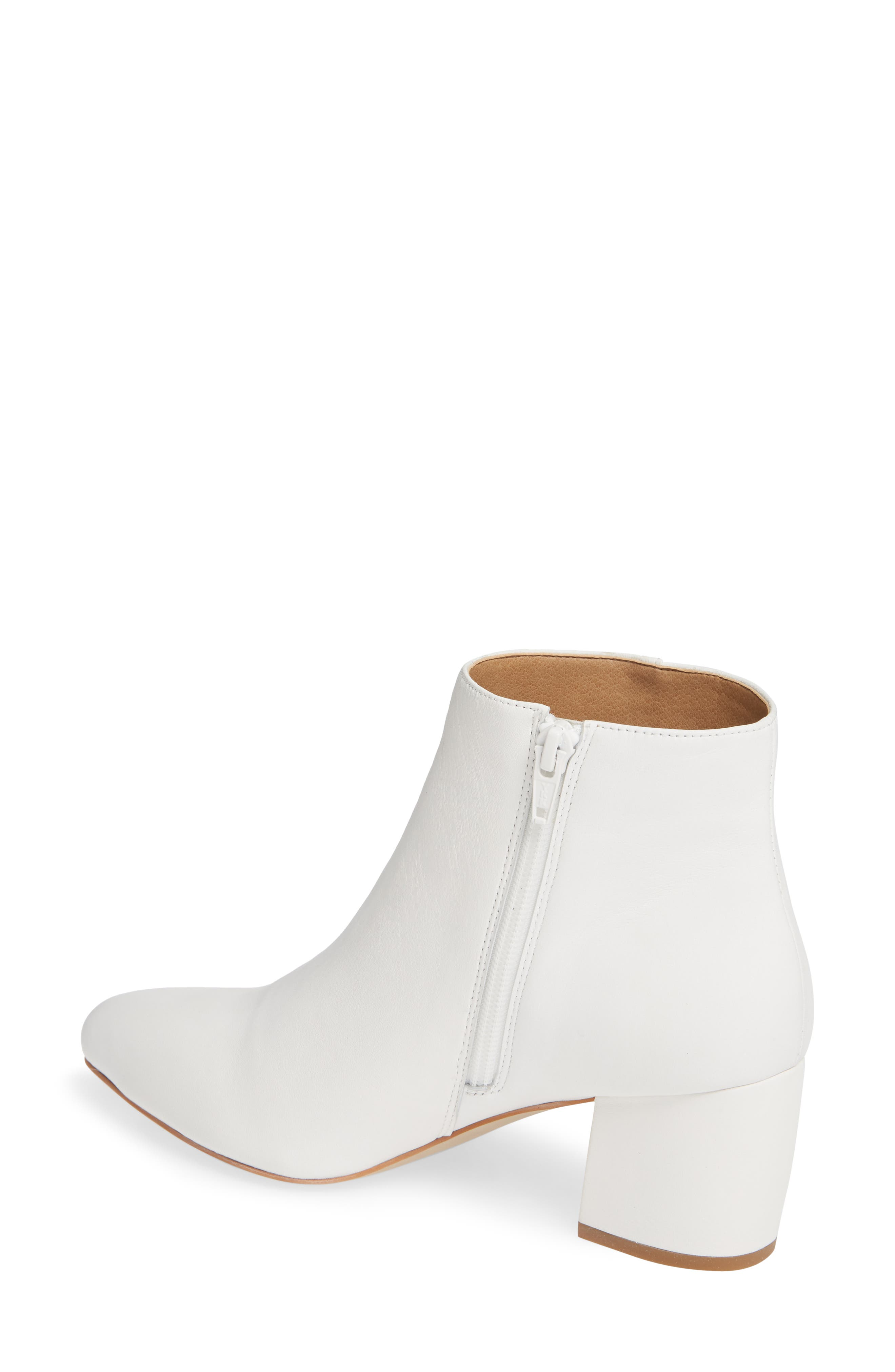 NIC+ZOE, Amorie Bootie, Alternate thumbnail 2, color, WHITE LEATHER
