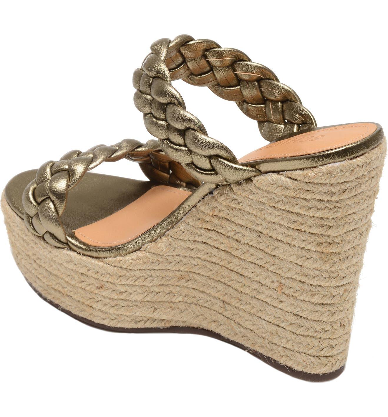 b50a3b4e100 Schutz Dyandre Platform Wedge Slide Sandal (Women)