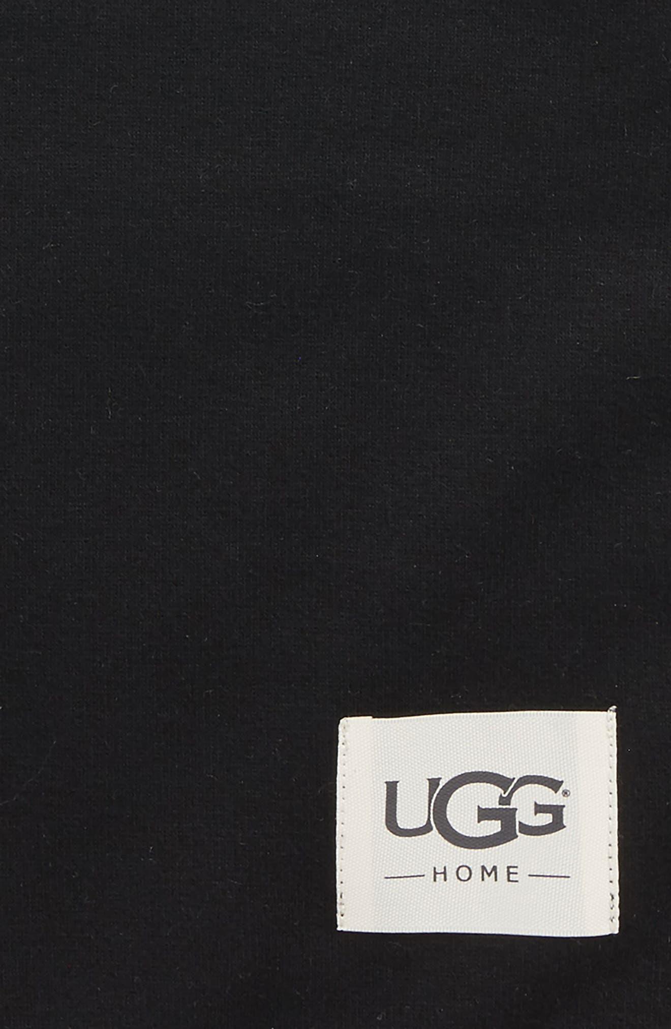 UGG<SUP>®</SUP>, Duffield Eye Mask, Pouch & Blanket Travel Set, Alternate thumbnail 2, color, 001