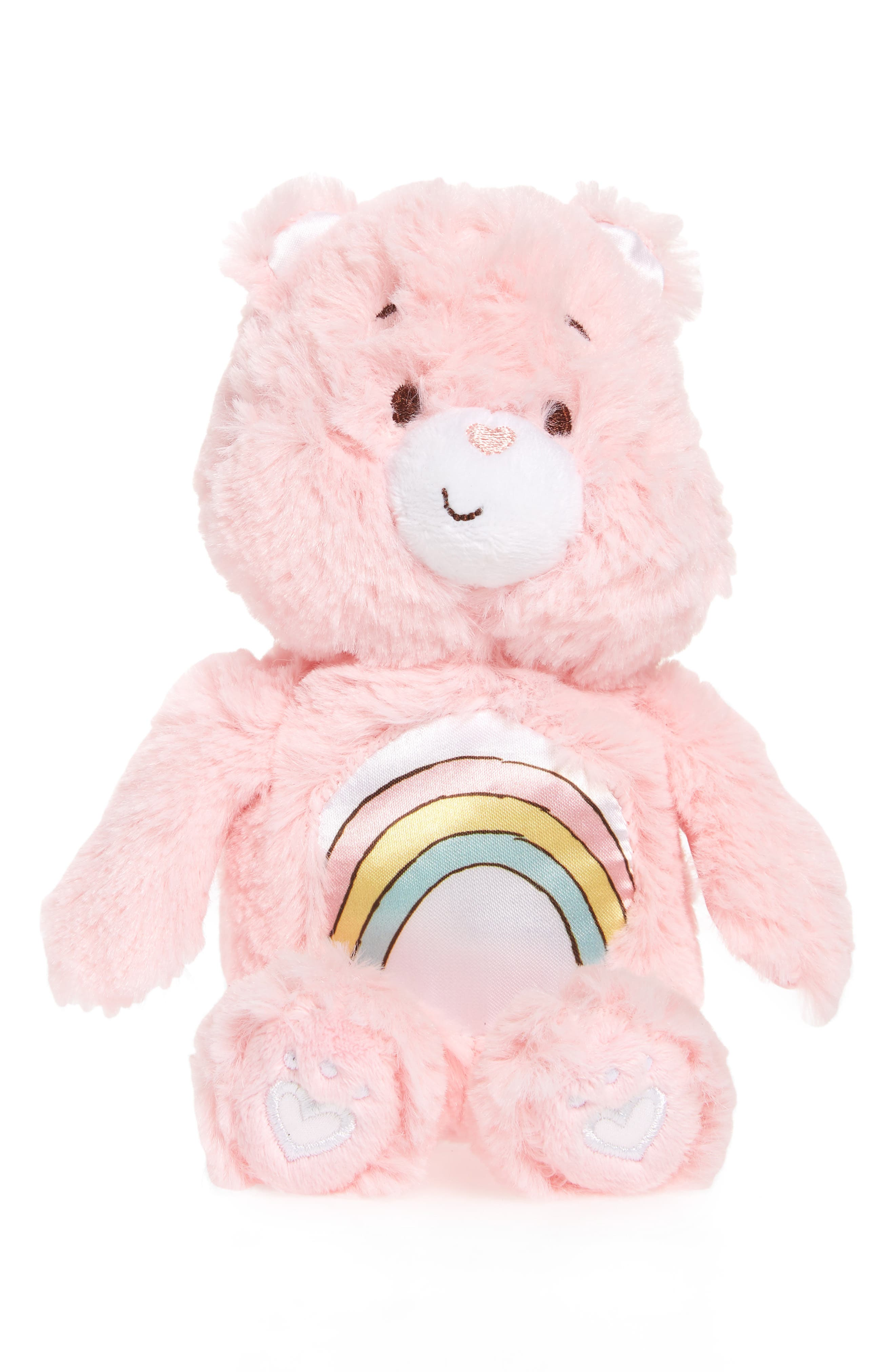 KIDS PREFERRED Care Bears Cheer Bear Rattle Plush Toy, Main, color, 650