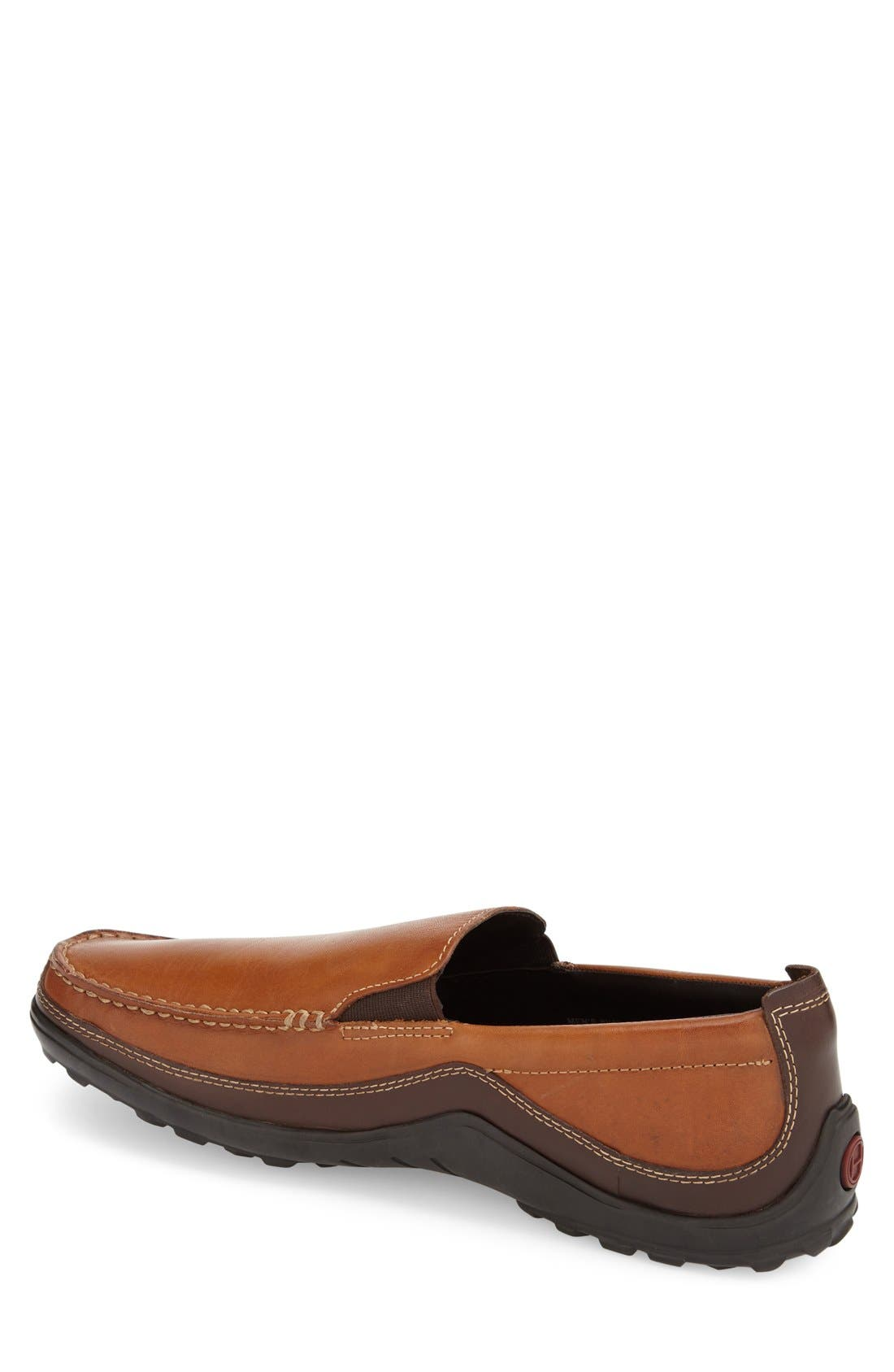 COLE HAAN, 'Tucker Venetian' Loafer, Alternate thumbnail 10, color, TAN