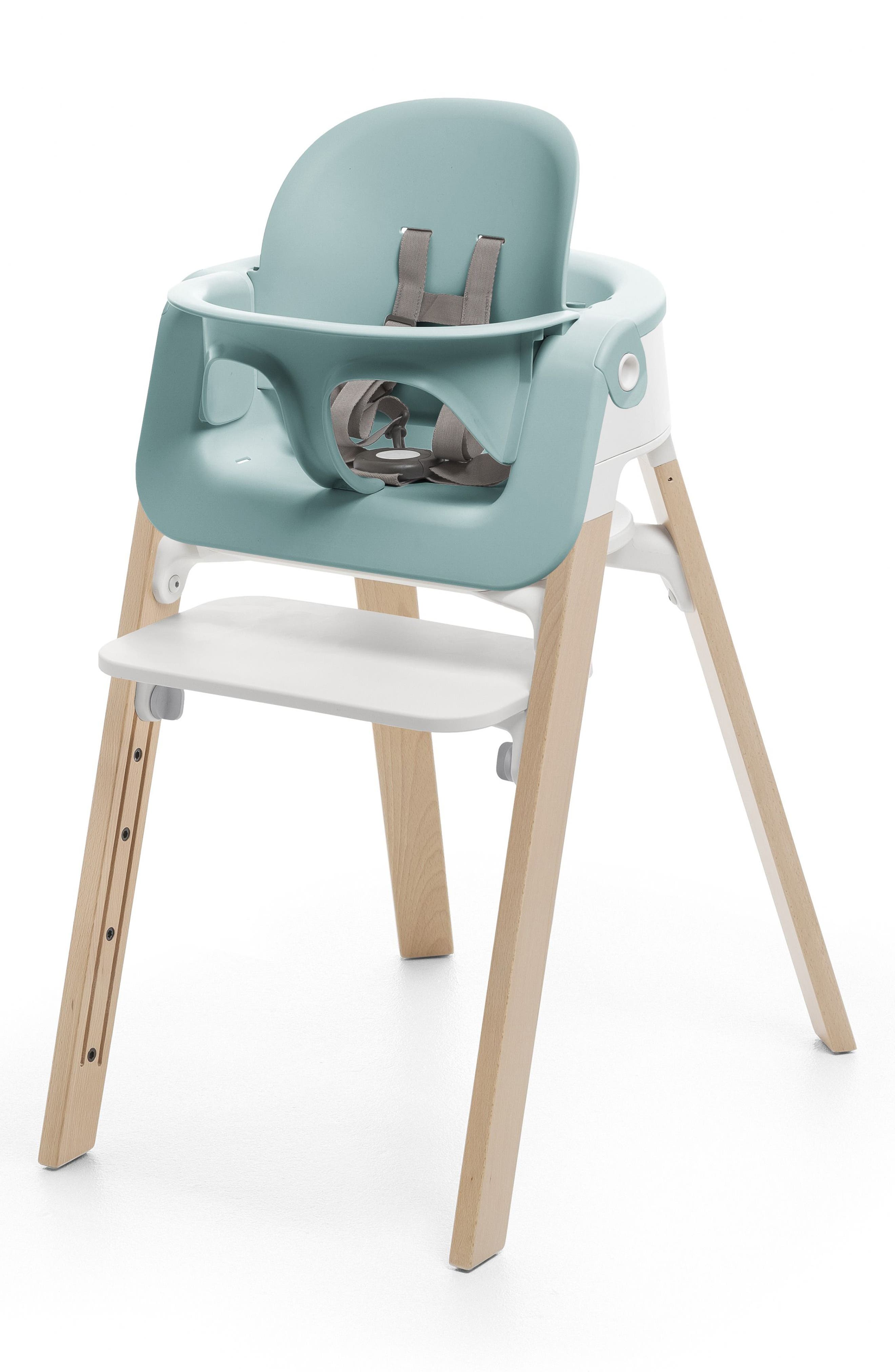 STOKKE, Steps<sup>™</sup> Baby Seat, Alternate thumbnail 2, color, AQUA BLUE