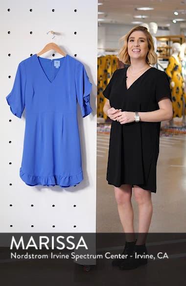 Ruffle V-Neck A-Line Dress, sales video thumbnail