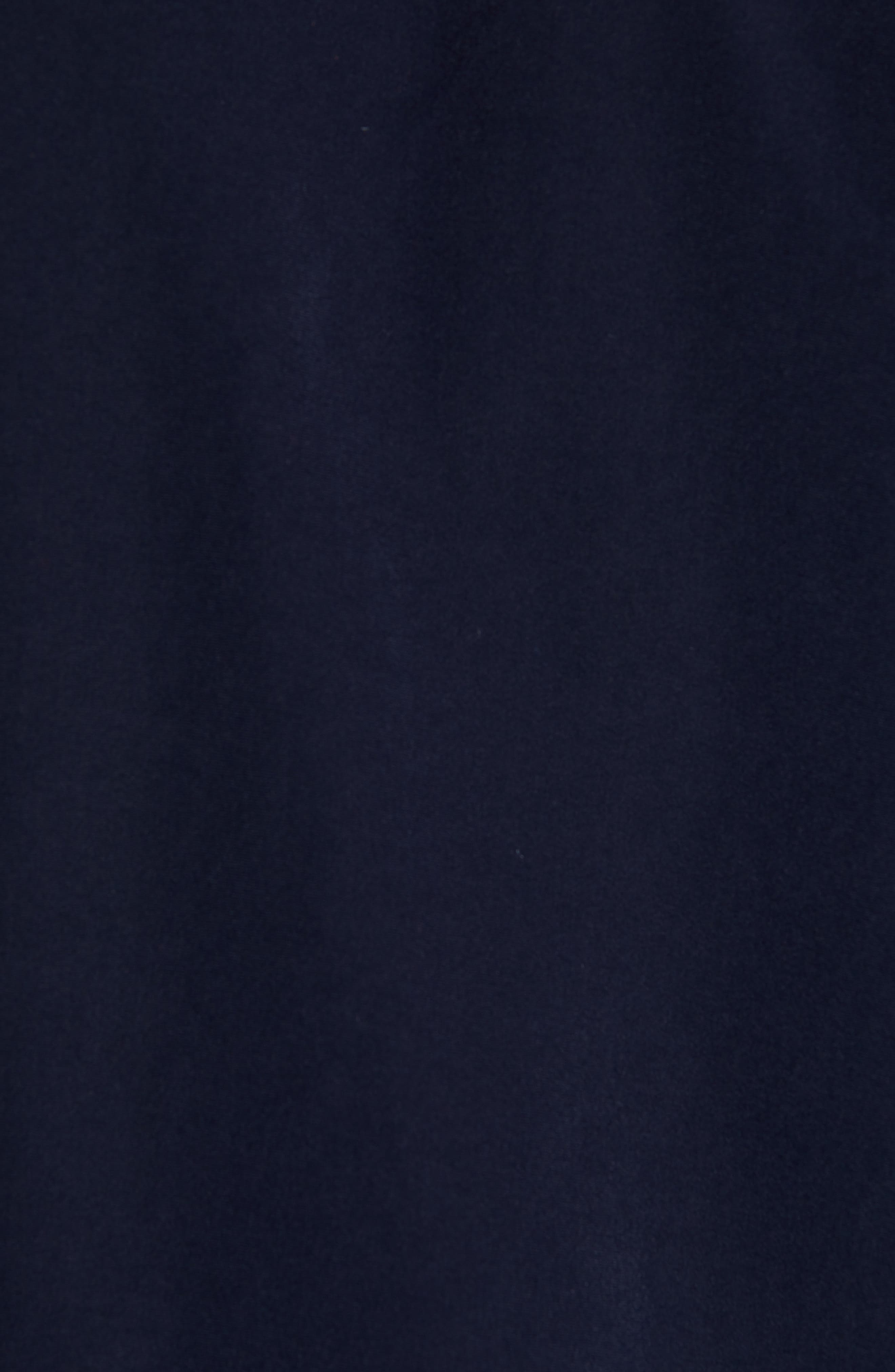 TED BAKER LONDON, Aroma Slim Fit Bomber Jacket, Alternate thumbnail 7, color, NAVY