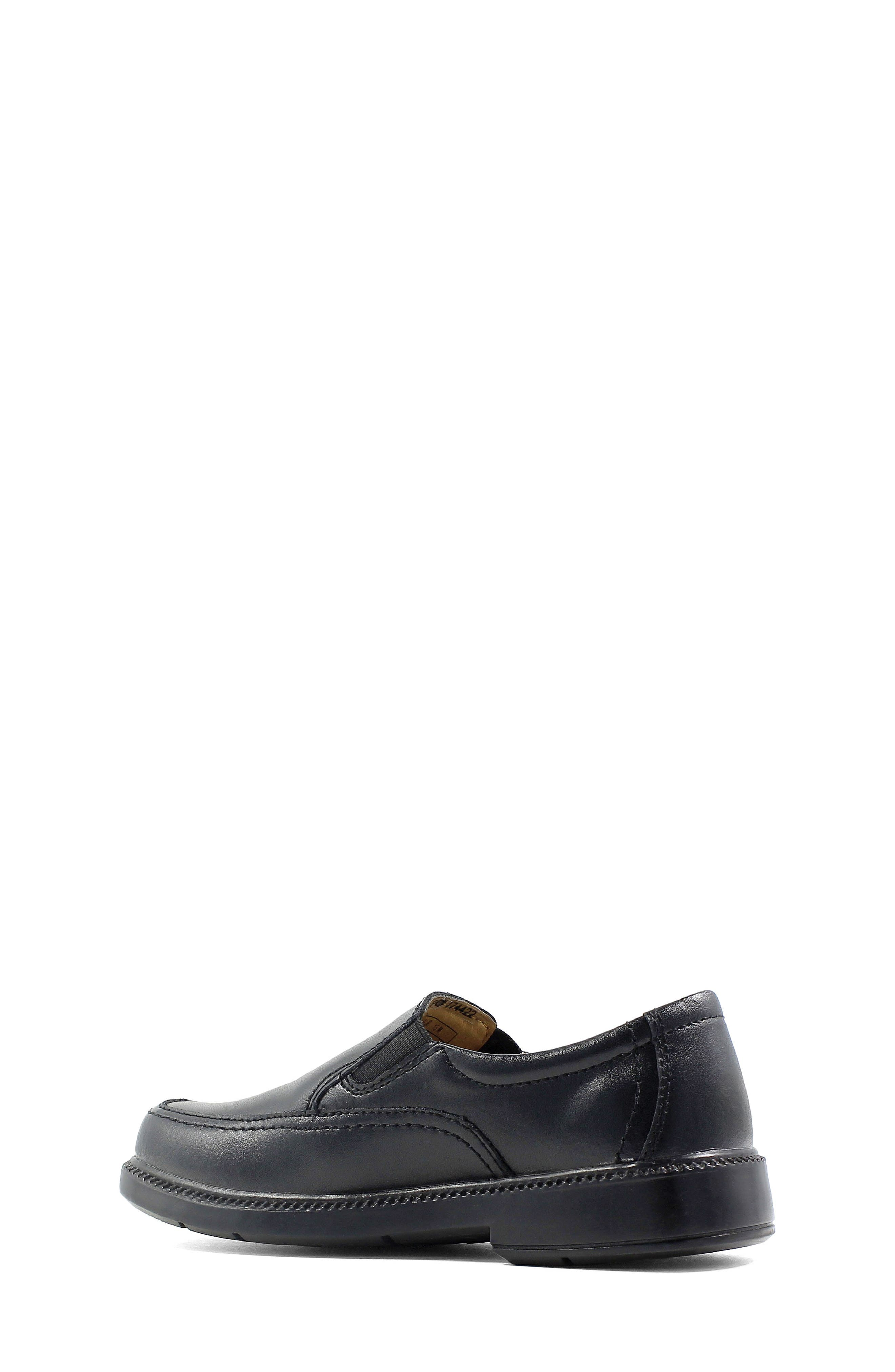 FLORSHEIM, 'Bogan' Slip-On, Alternate thumbnail 2, color, BLACK