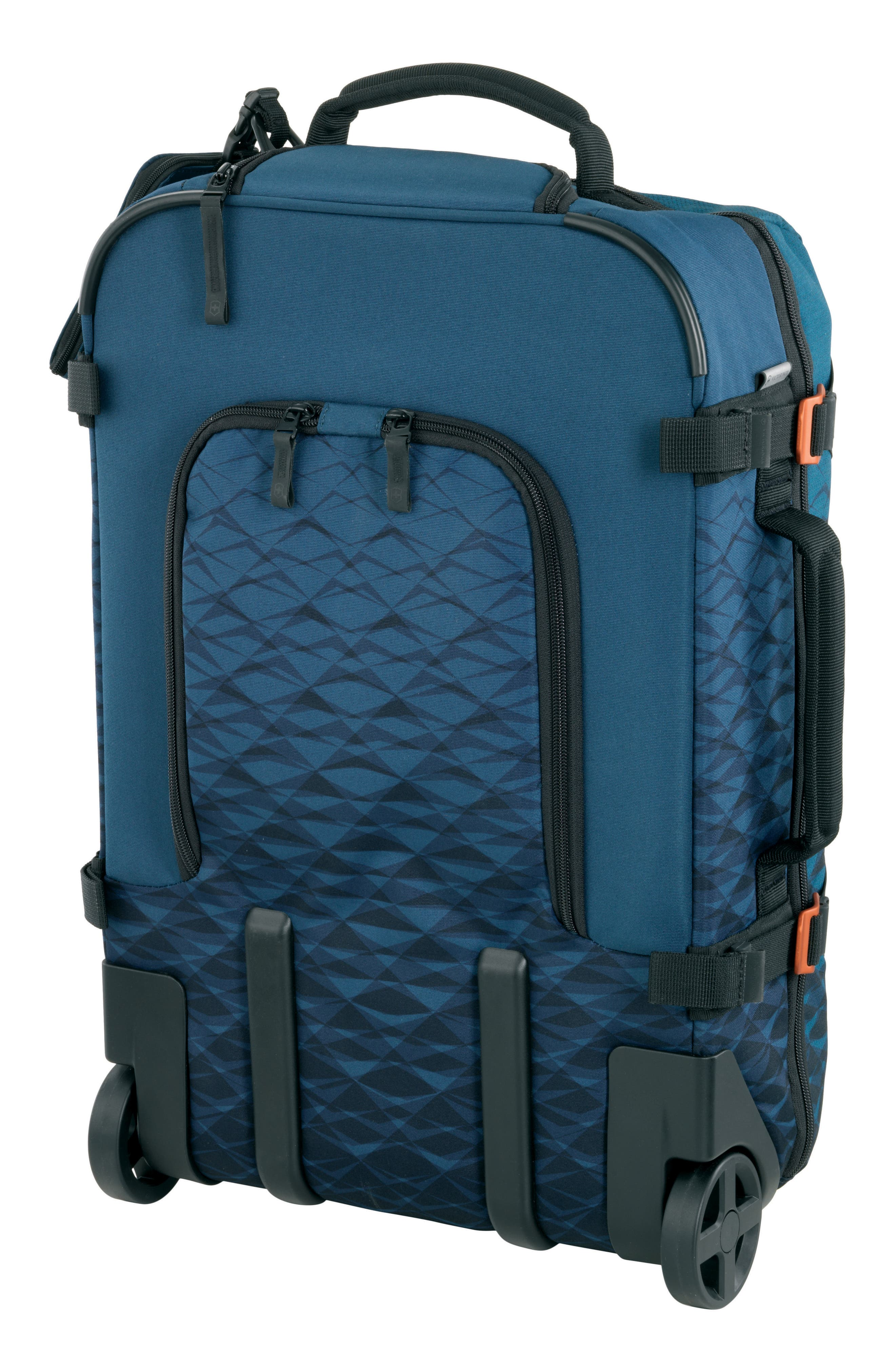 VICTORINOX SWISS ARMY<SUP>®</SUP>, VX Touring 22-Inch Carry-On, Alternate thumbnail 4, color, DARK TEAL