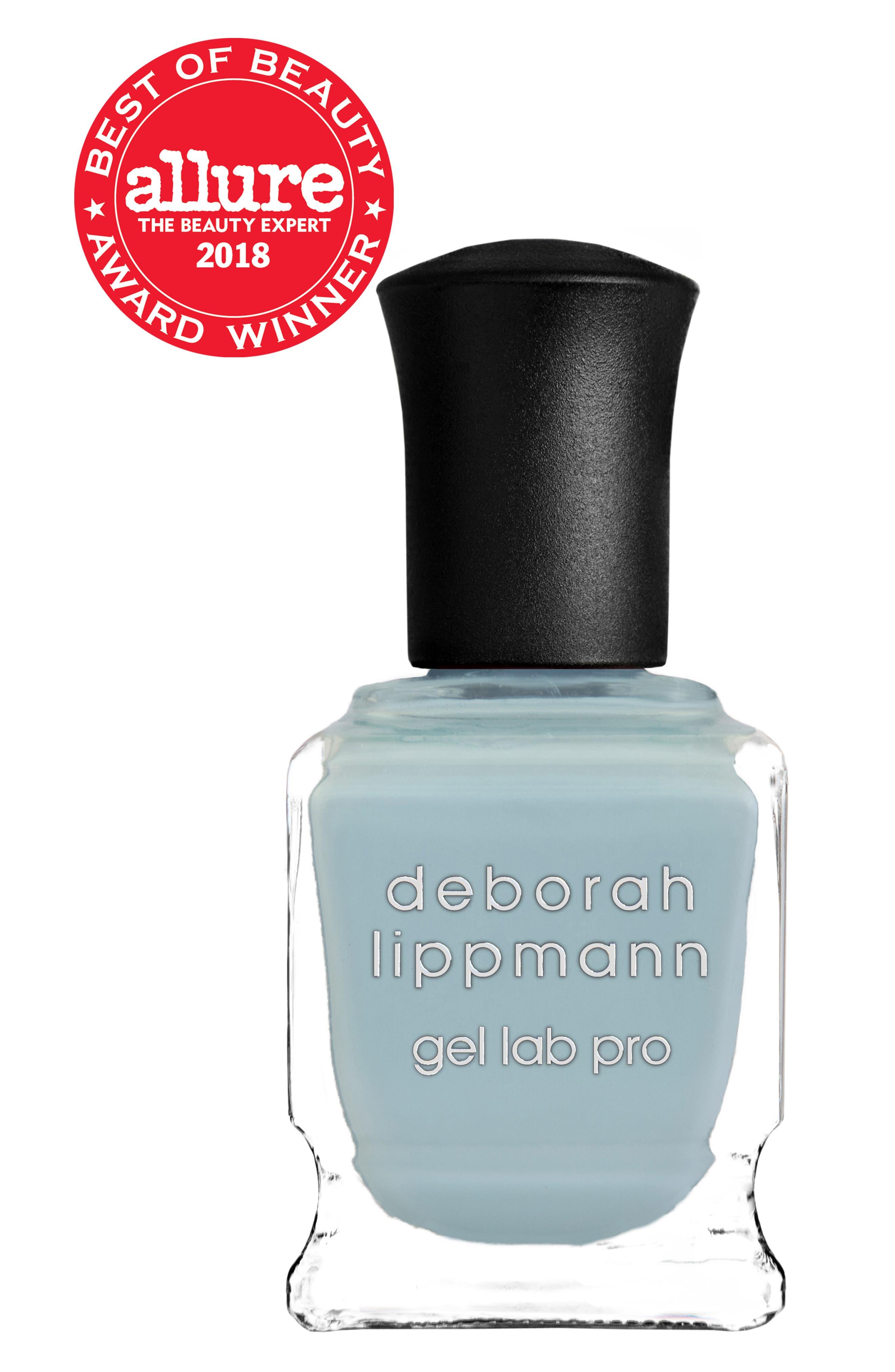 DEBORAH LIPPMANN, Hyper Vibes Gel Lab Pro Nail Color, Alternate thumbnail 2, color, BABY BLUE EYES