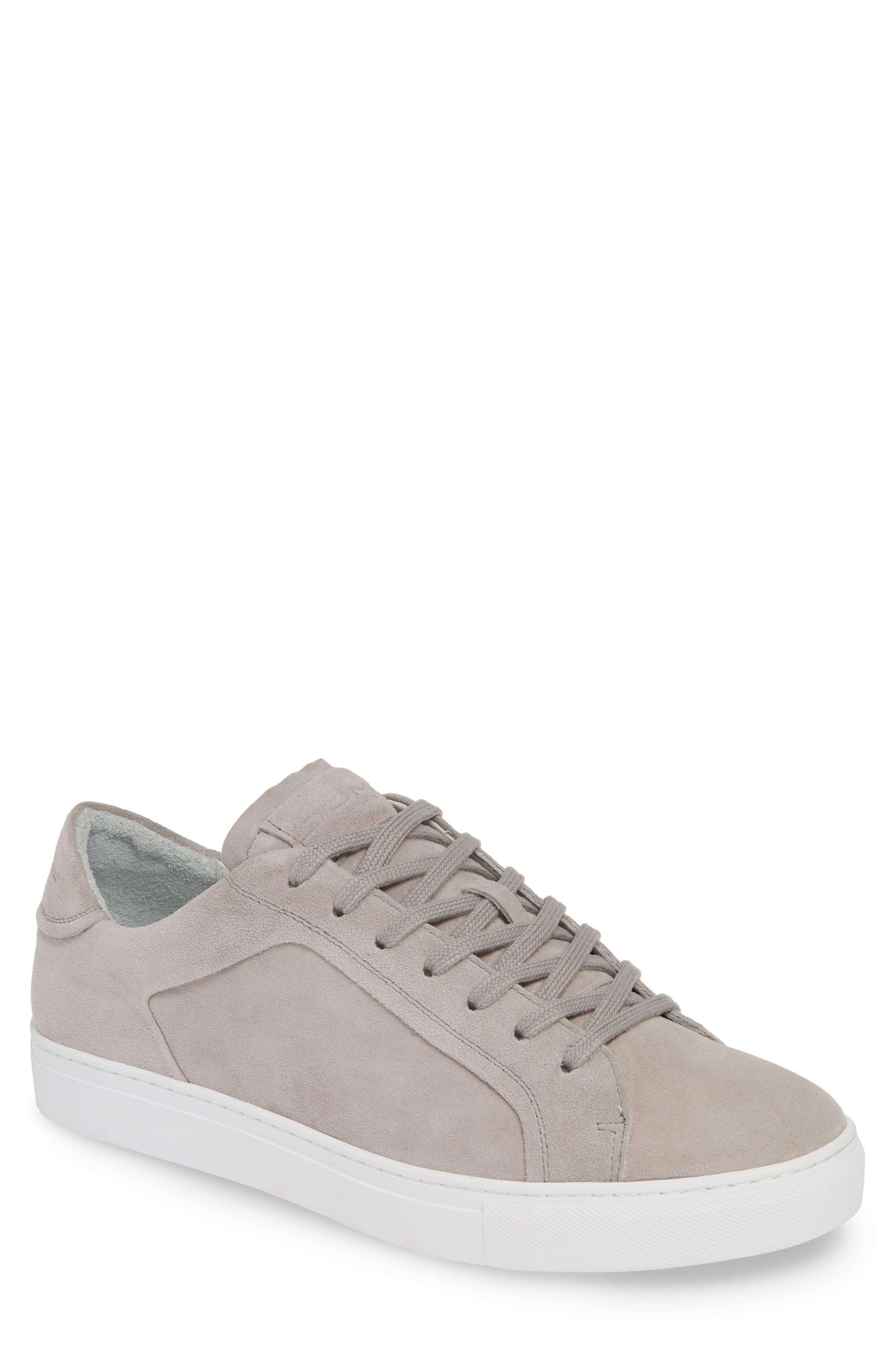 JUMP Bloke Sneaker, Main, color, GREY SUEDE