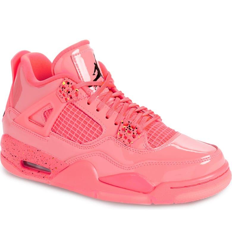 huge discount 59e75 b204c JORDAN Nike Air Jordan 4 Retro NRG High Top Sneaker, Main, color, HOT