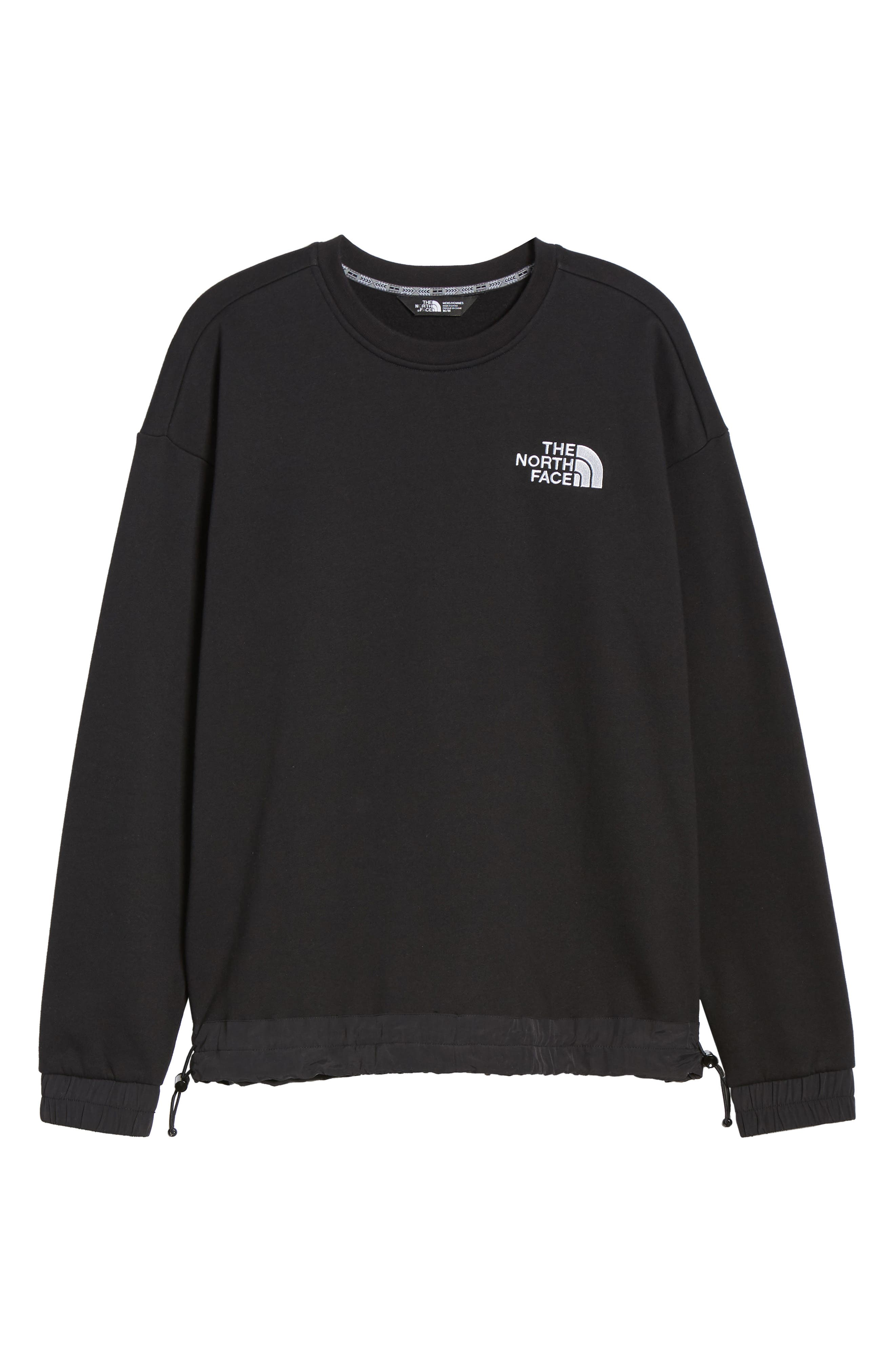 THE NORTH FACE, 1992 Rage Collection Sweatshirt, Alternate thumbnail 6, color, 001