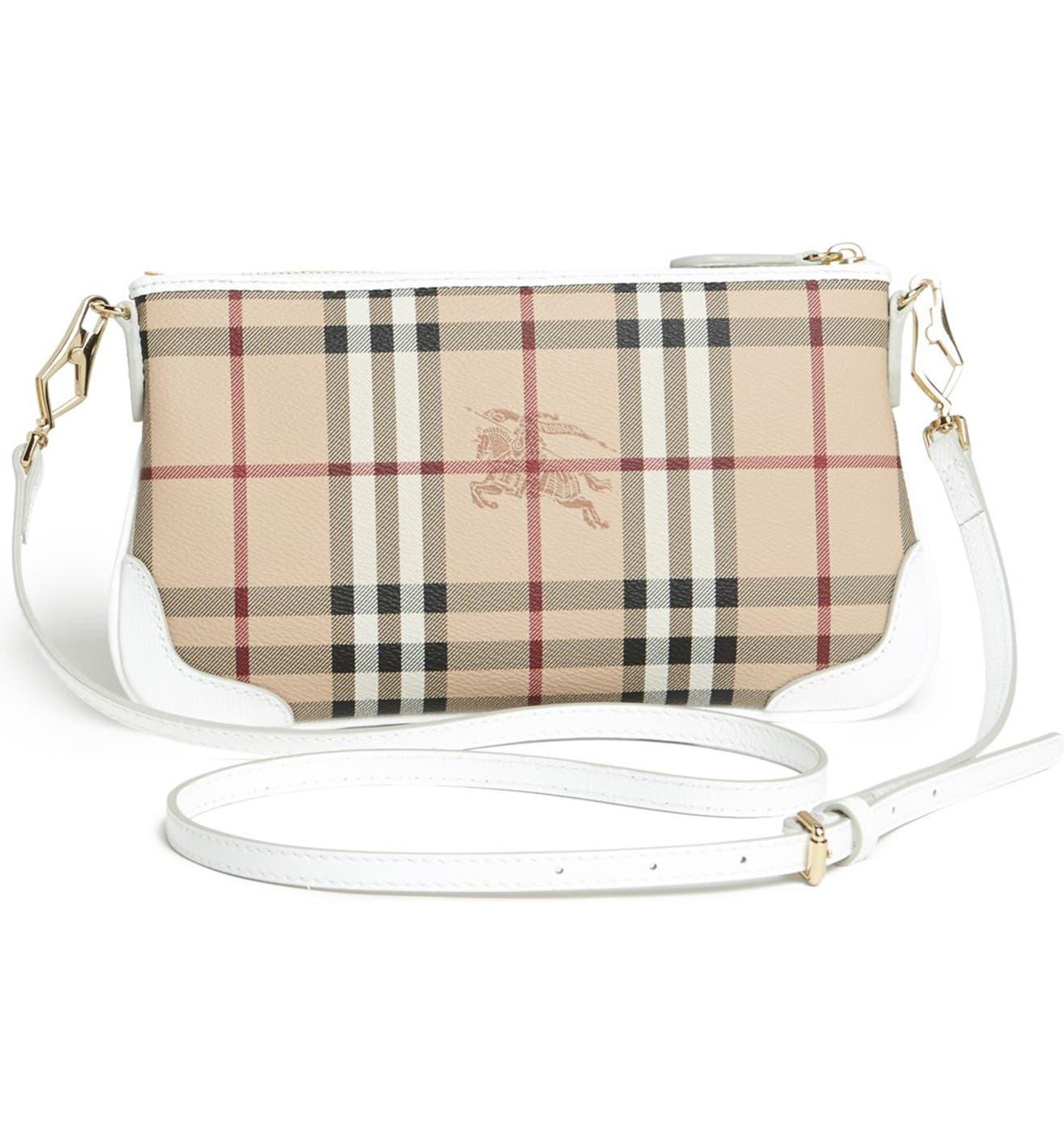 74474bfc1a23 Burberry  Peyton - Haymarket Check  Crossbody Bag