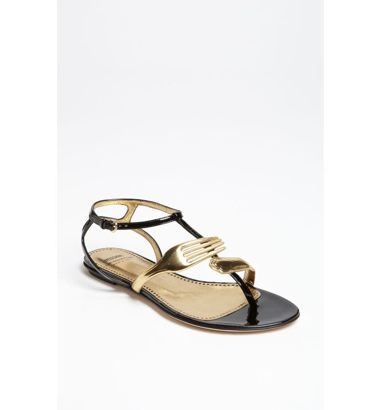 4ba00c5860c Moschino Cheap & Chic 'Utensil' Sandal | Nordstrom