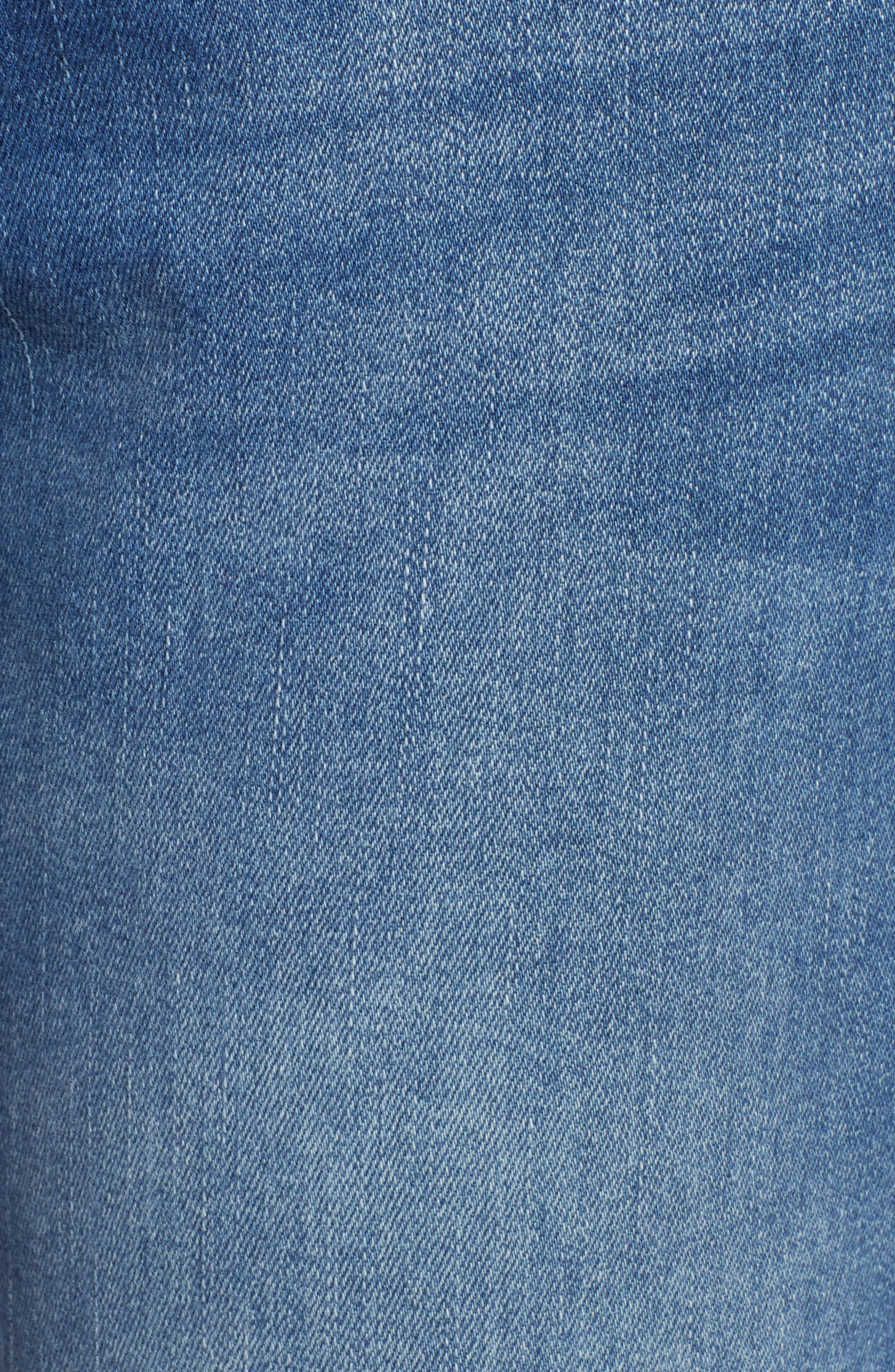 TOMMY BAHAMA, Tema Slim Boyfriend Jeans, Alternate thumbnail 6, color, DARK INDIGO WASH