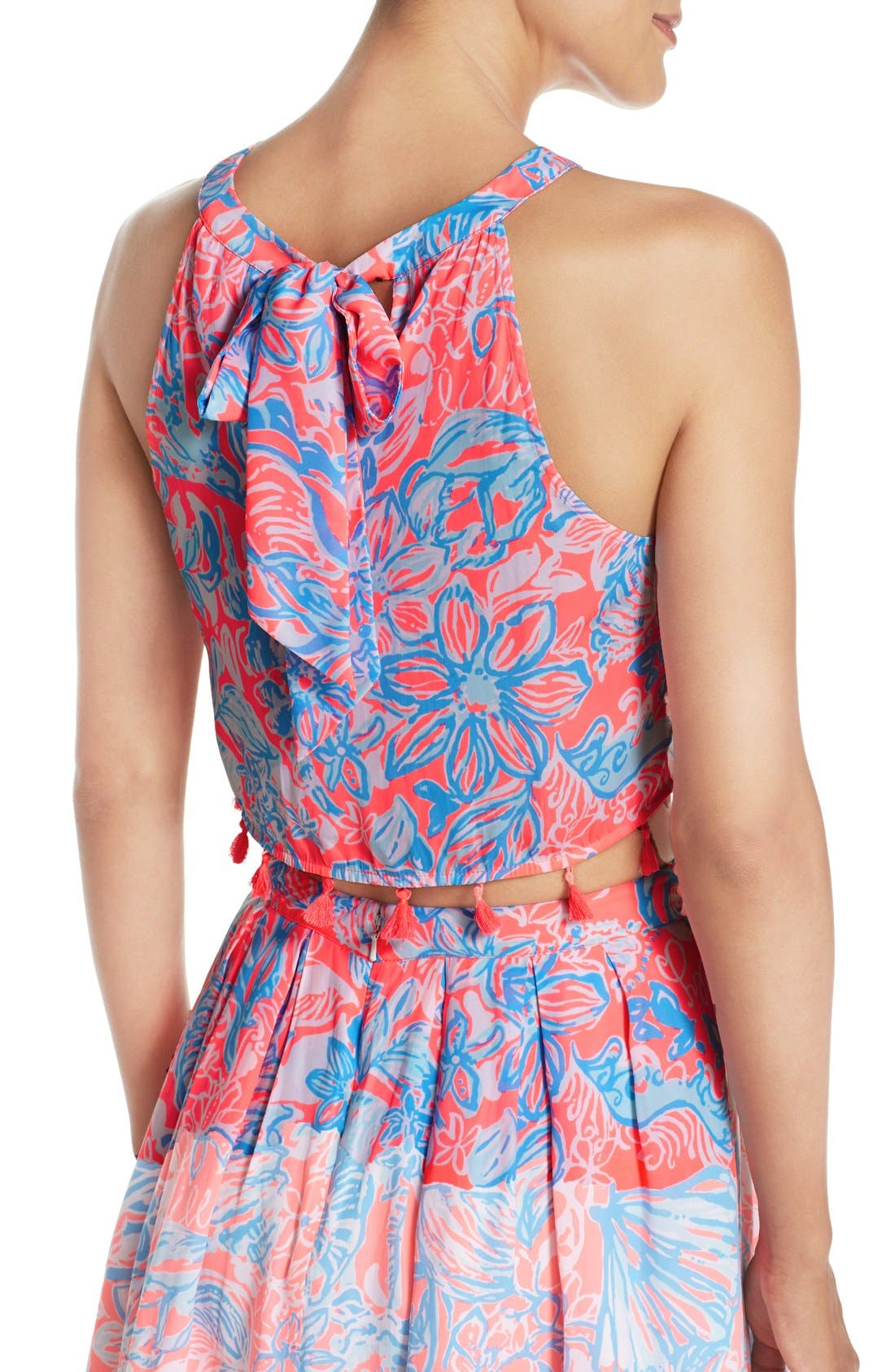 LILLY PULITZER<SUP>®</SUP>, 'Selina' Two-Piece Dress, Alternate thumbnail 5, color, 677