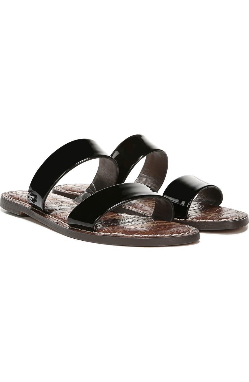 045a05e5f8b8 Sam Edelman Gala Two Strap Slide Sandal (Women)