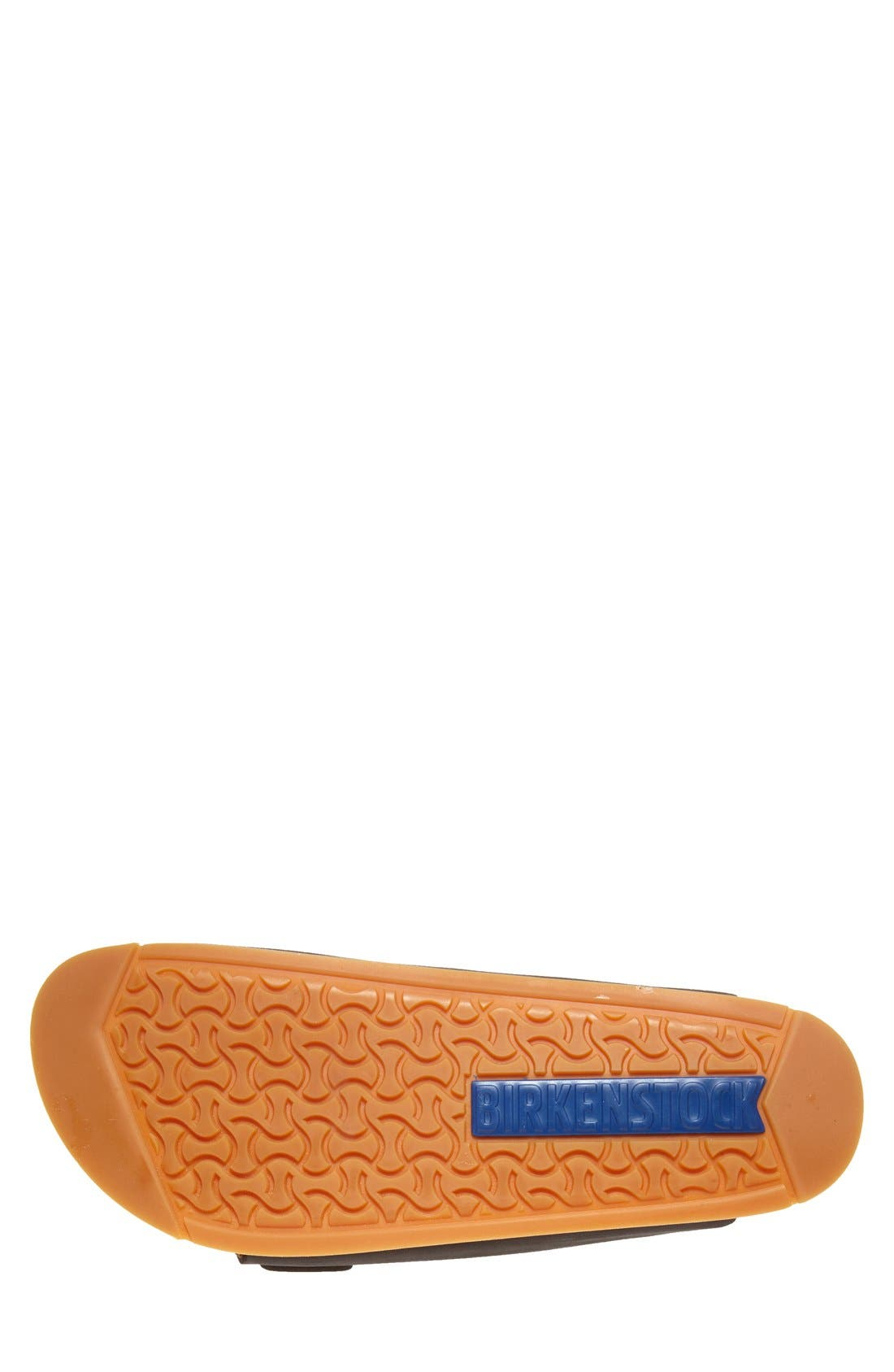 BIRKENSTOCK, 'Arizona' Leather Slide Sandal, Alternate thumbnail 3, color, 001