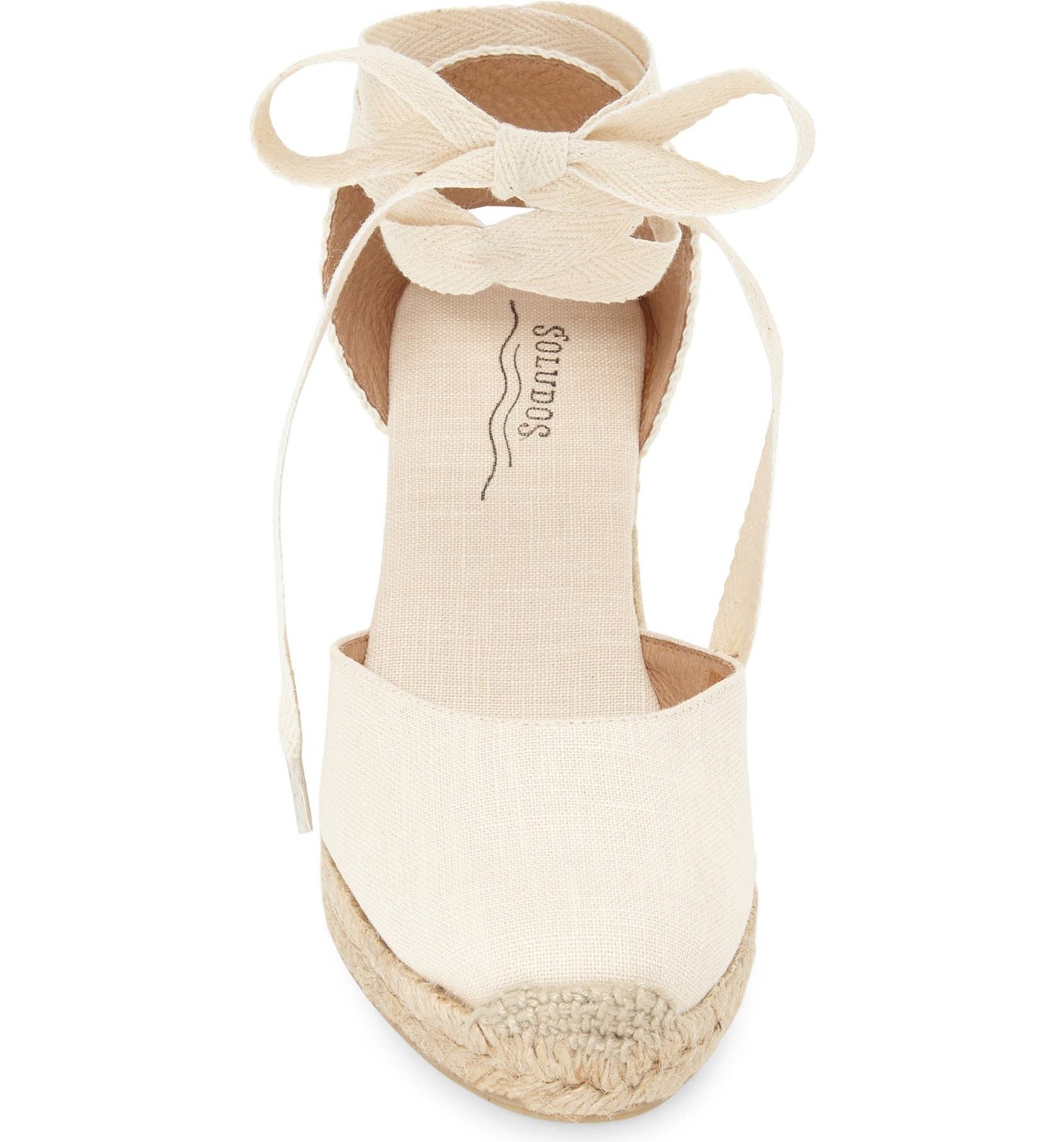 030ed2f6470 Soludos Wedge Lace-Up Espadrille Sandal (Women)