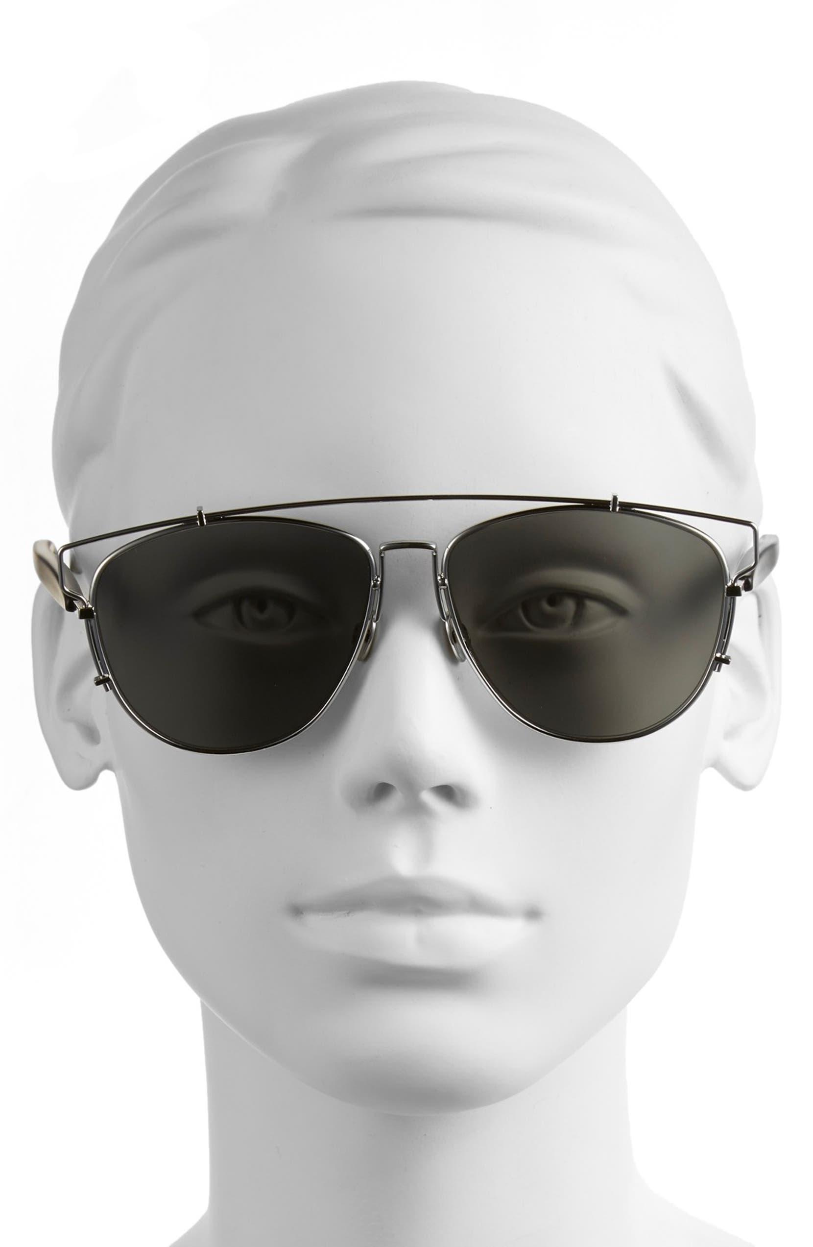 5c1c33b41c21 Dior Technologic 57mm Brow Bar Sunglasses