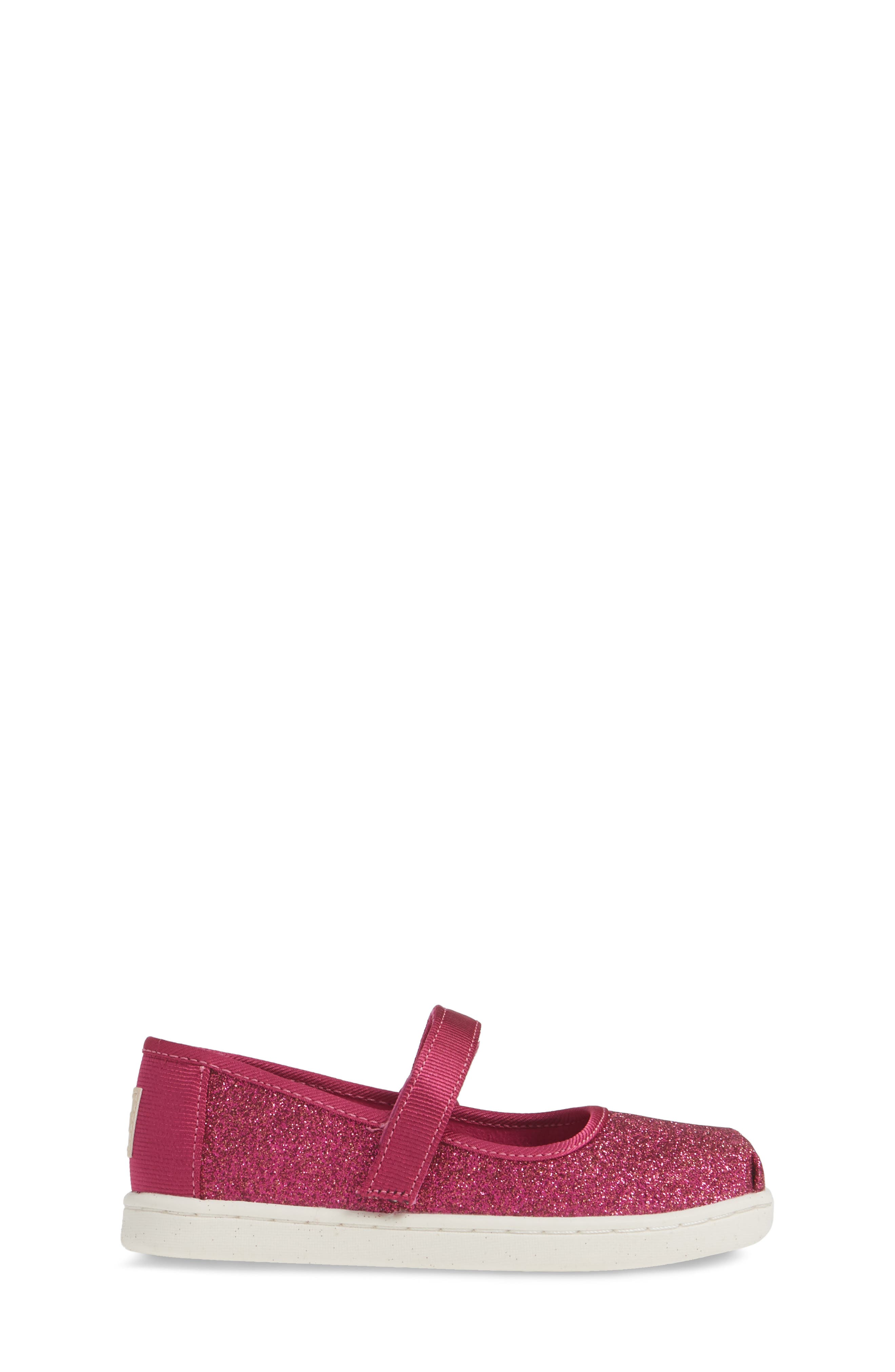 TOMS, Mary Jane Sneaker, Alternate thumbnail 3, color, PINK