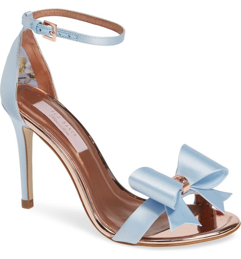 Ted Baker London Bowdalo Ankle Strap Sandal (Women)