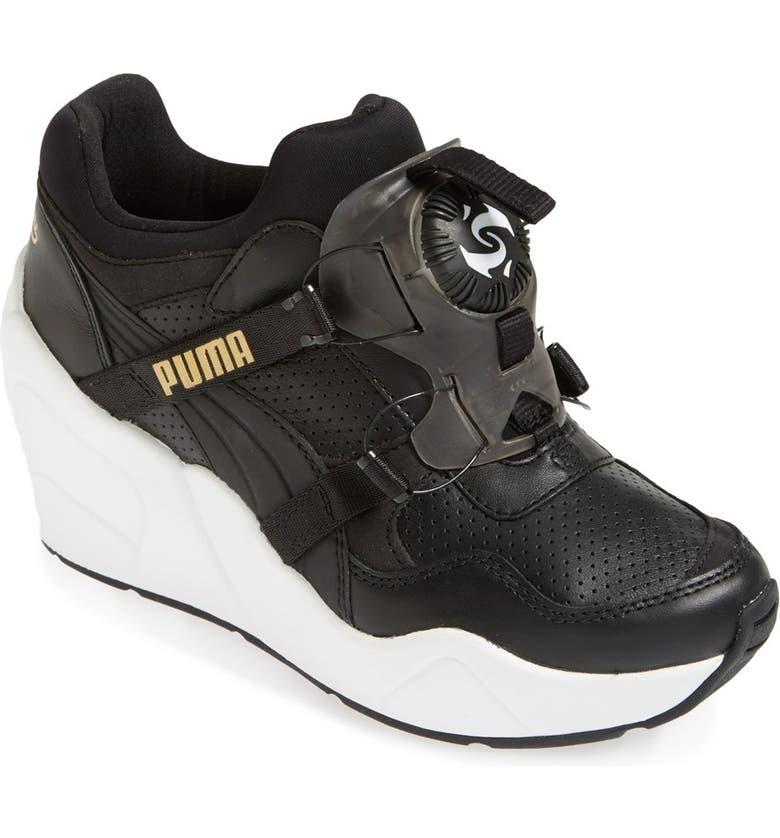 eec88cc85c4 PUMA  Disc Trinomic - Sophia Chang  Wedge Sneaker (Women)