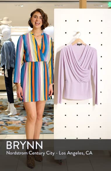 Wrap Front Knit Top, sales video thumbnail