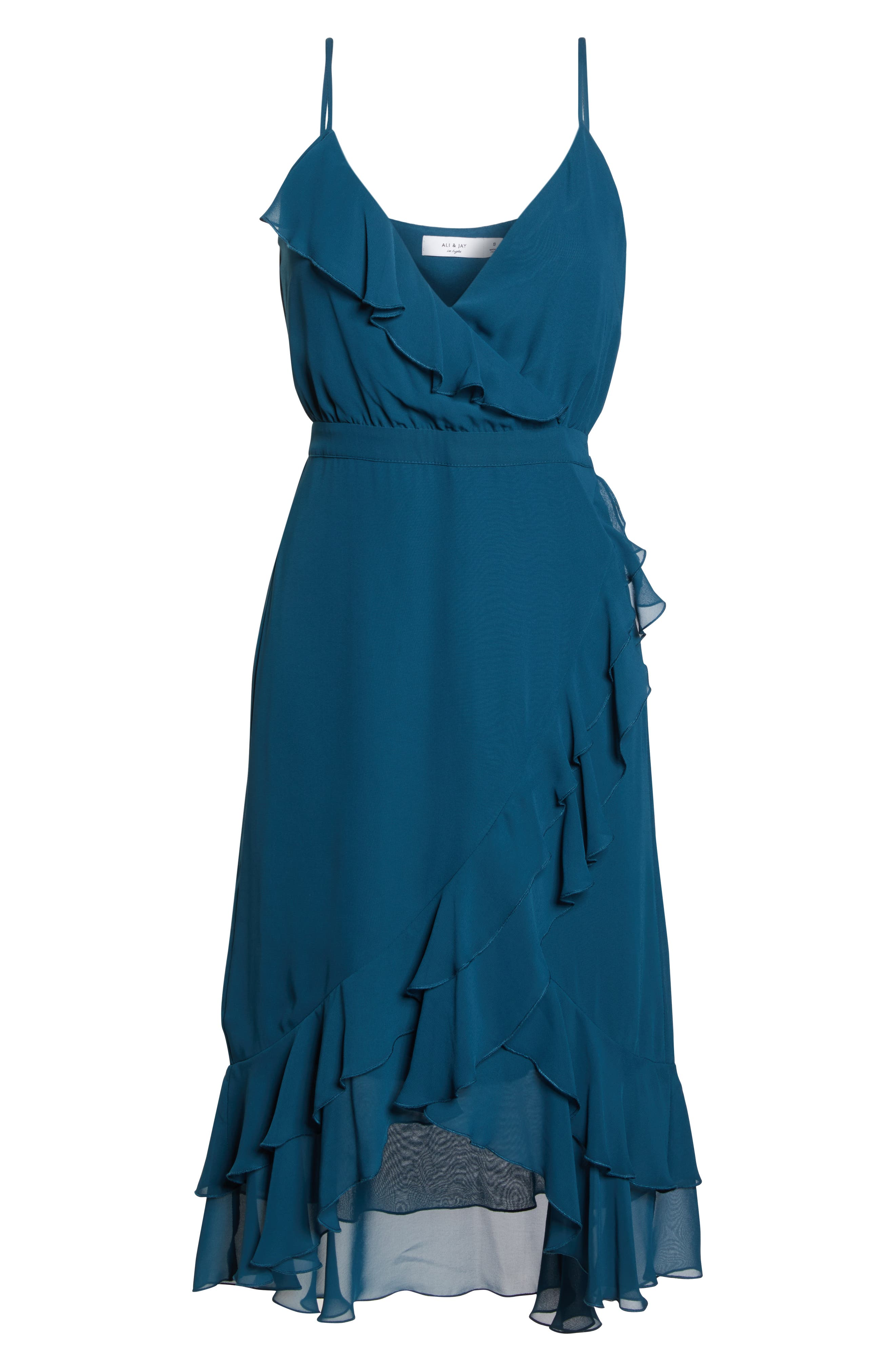 ALI & JAY, Pretty Lady High/Low Dress, Alternate thumbnail 7, color, 400